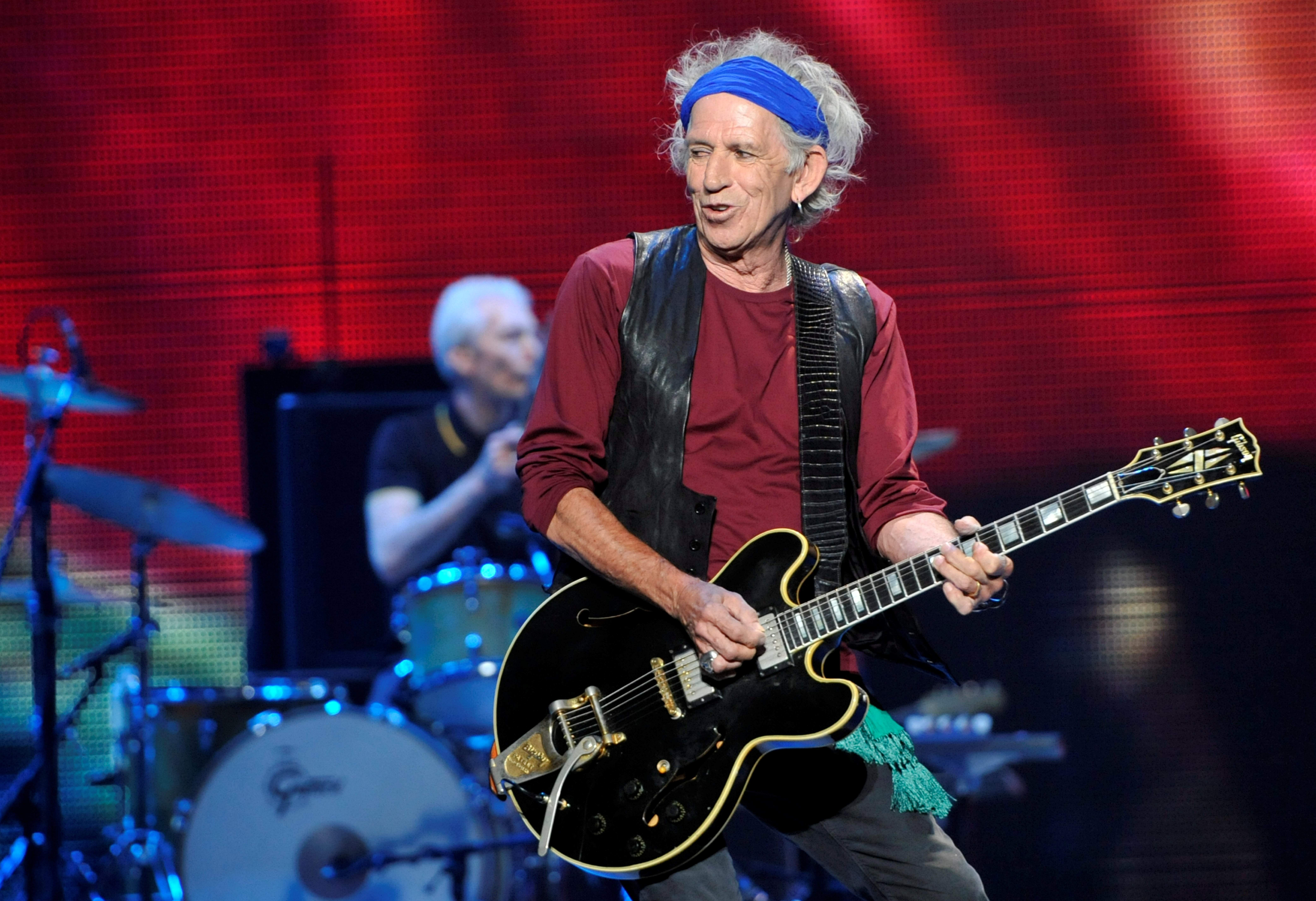 Keith Richards Childrens Book Gus Me The Story Of My Granddad And First Guitar Releases Today