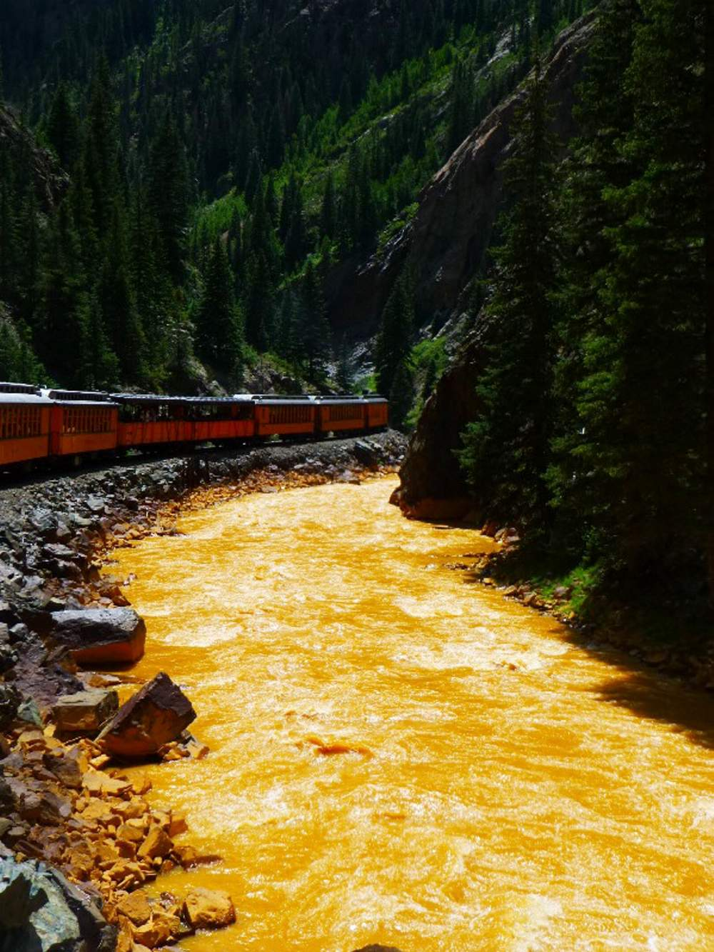 Animas river spill pictures of wedding
