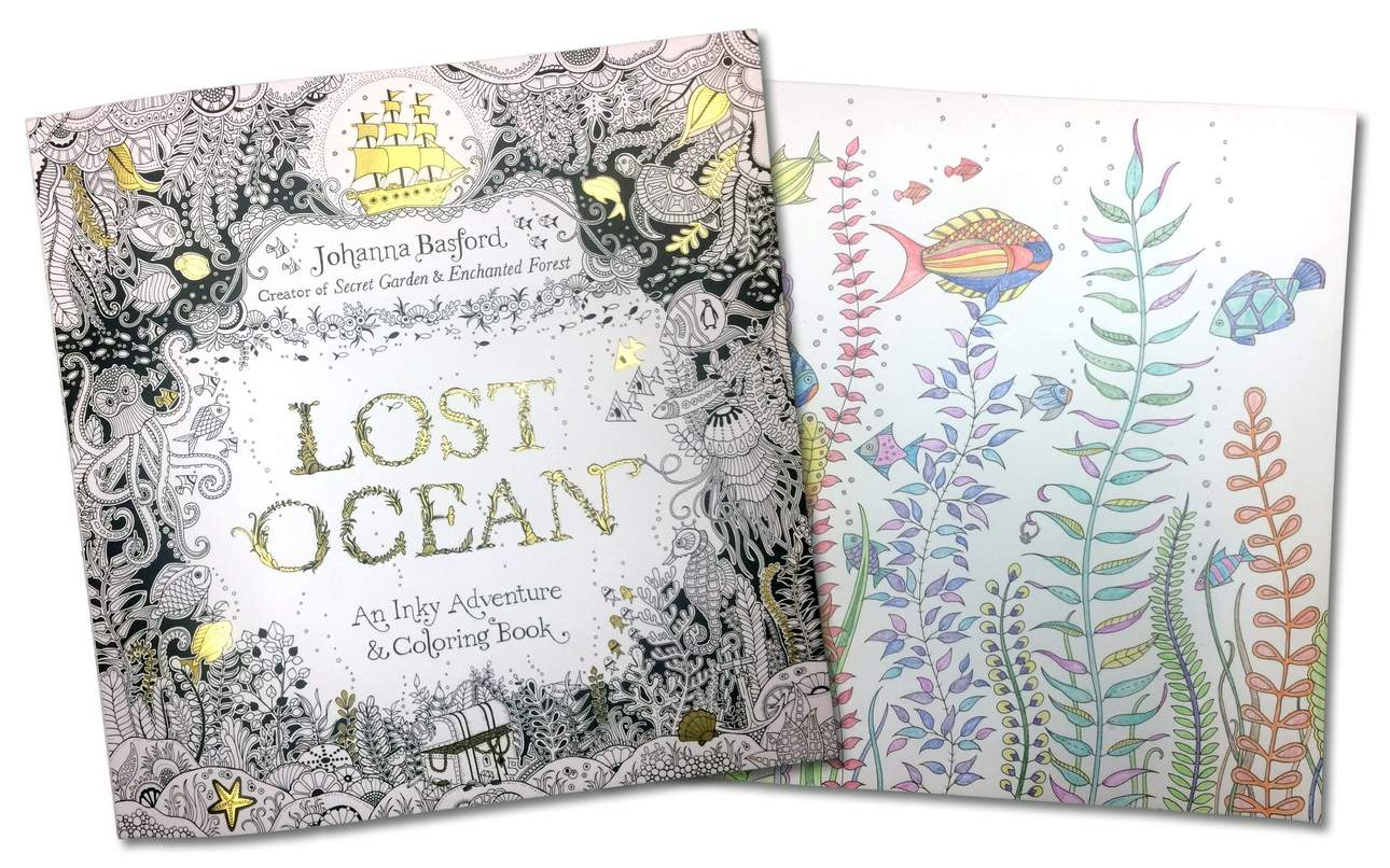 Secret garden colouring in book nz - Co Co Co Coloring Books For Adults Nz Lost Ocean An Inky Adventure Coloring Book Download Image Co Colouring In Book Secret Garden