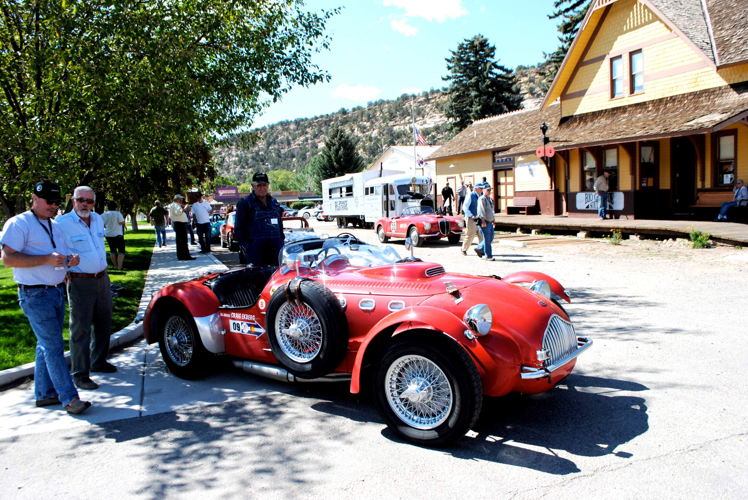 Classic sport cars coming to Durango, Dolores