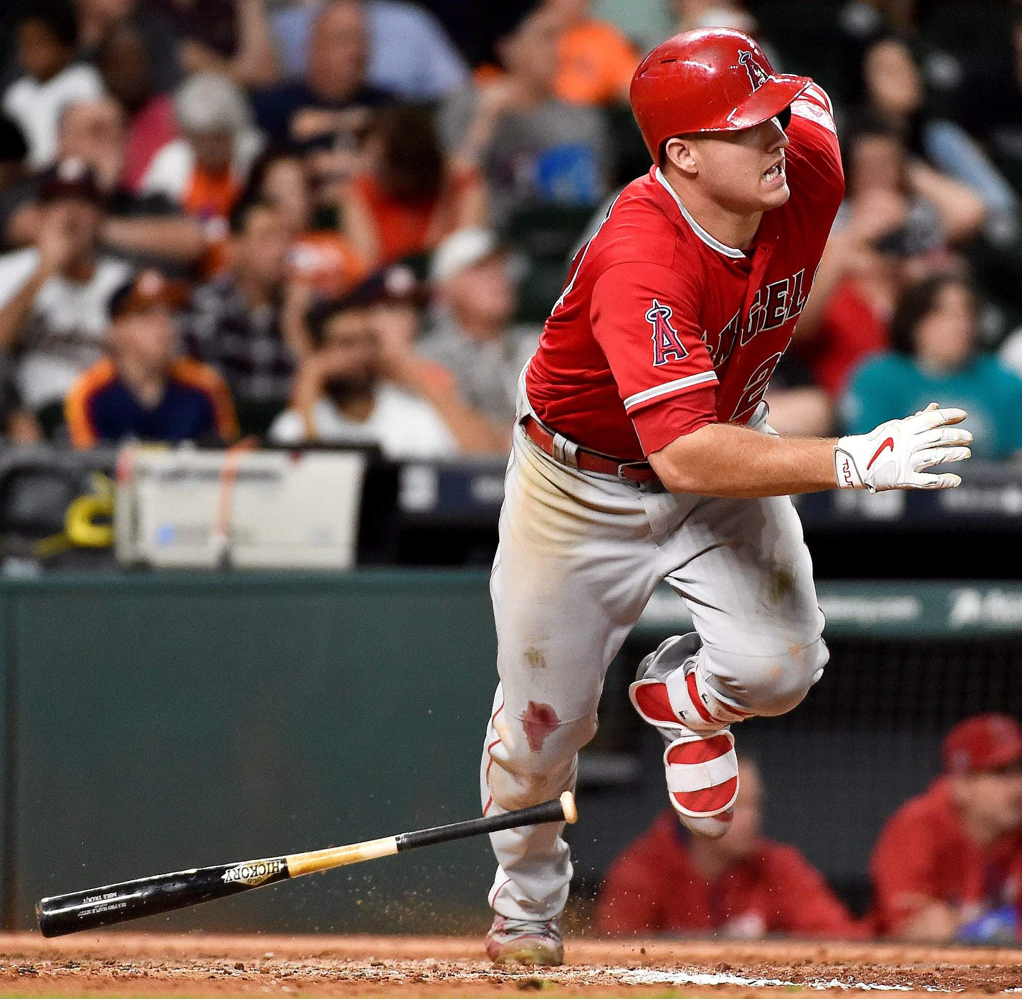 At Only 25 Years Old Los Angeles Angels Star Mike Trout Has Already Won Two AL MVP Awards