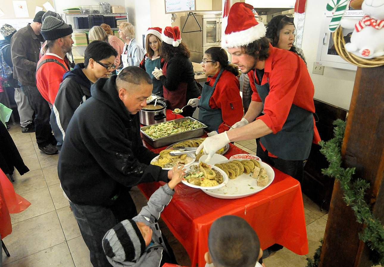Soup Kitchen Meal Christmas Day Meal Planned At Manna Soup Kitchen