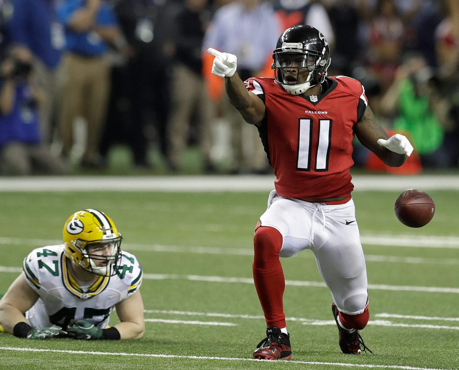 Atlanta Falcons super in rout of Packers win NFC title