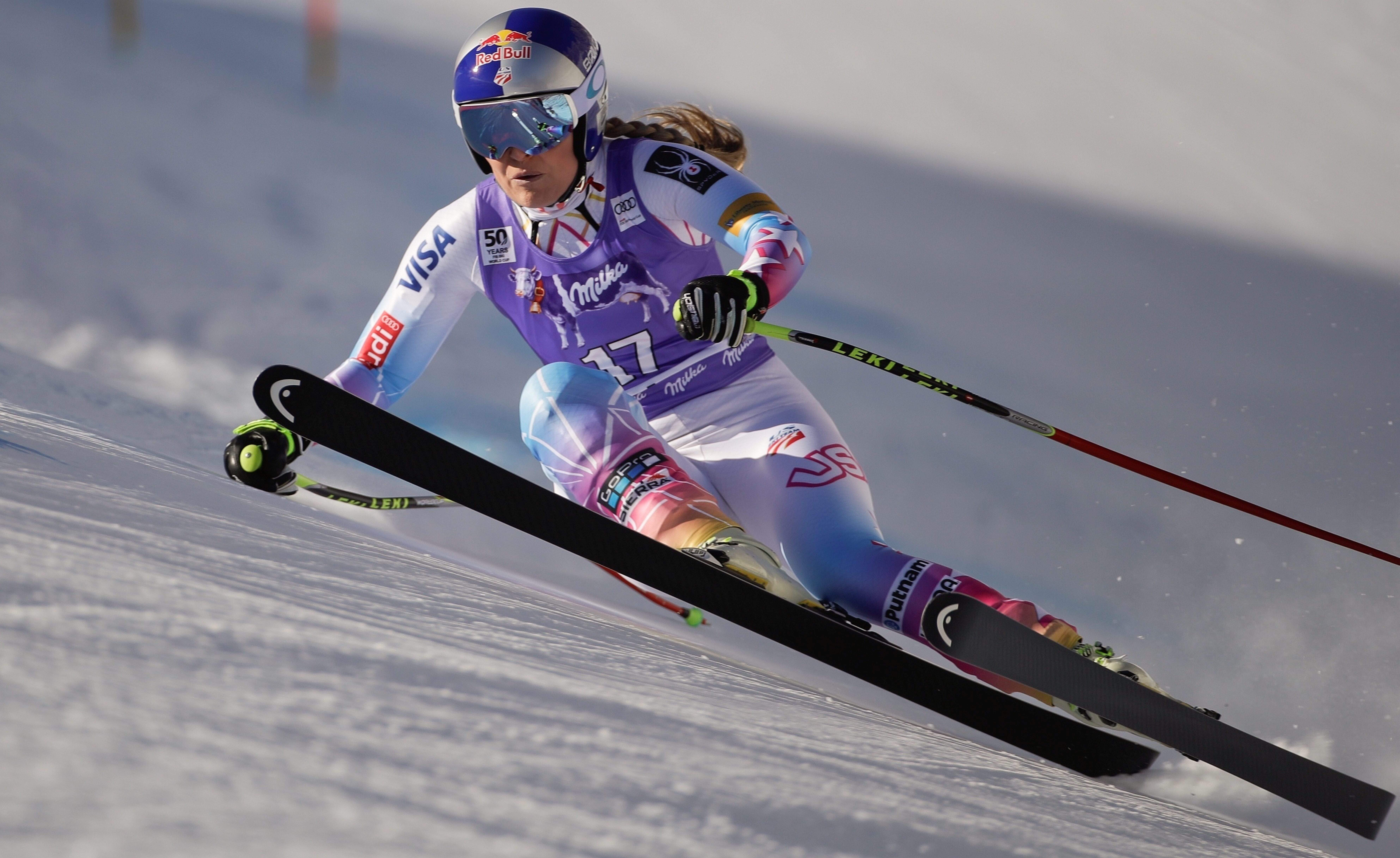 Vonn bombs as Schmidhofer wins world super-G ski