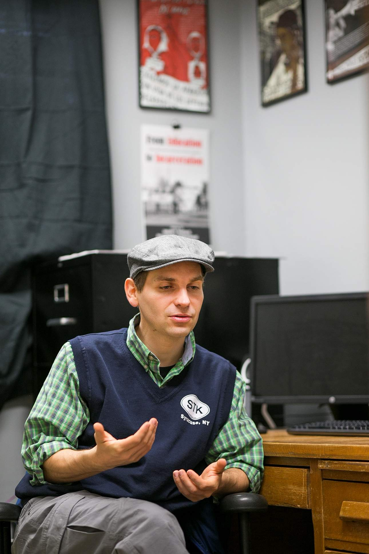 activism blends academics for fort lewis college professor assistant professor anthony nocella speaks about his activism friday in his office i want to be a model of what efficient and effective activism looks
