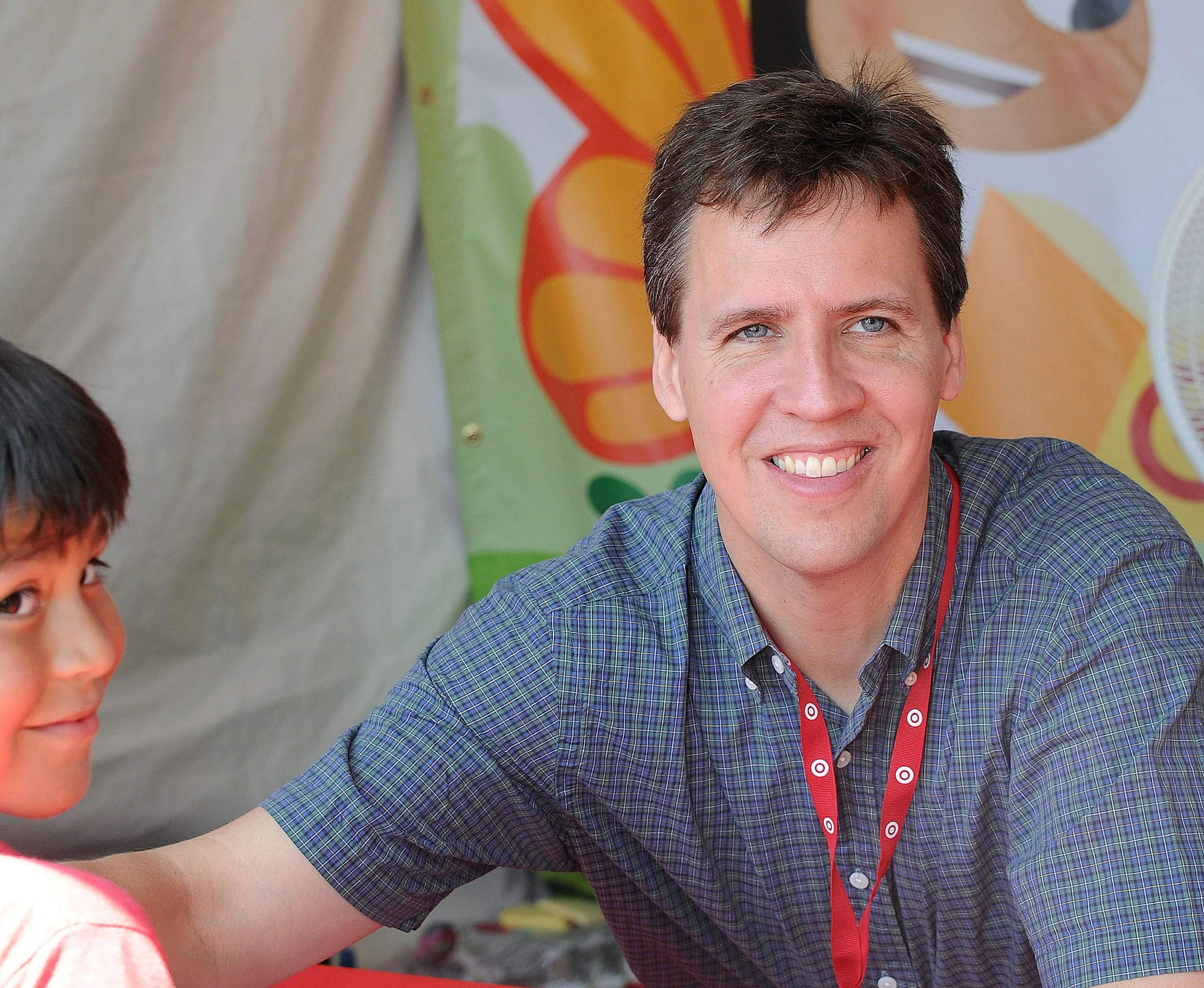 Jeff kinney marks 10th anniversary of wimpy kid series jeff kinney atendst the la times festival of books in los angeles in 2012 the first 11 novels of his diary of a wimpy kid series have sold more than 180 solutioingenieria Images