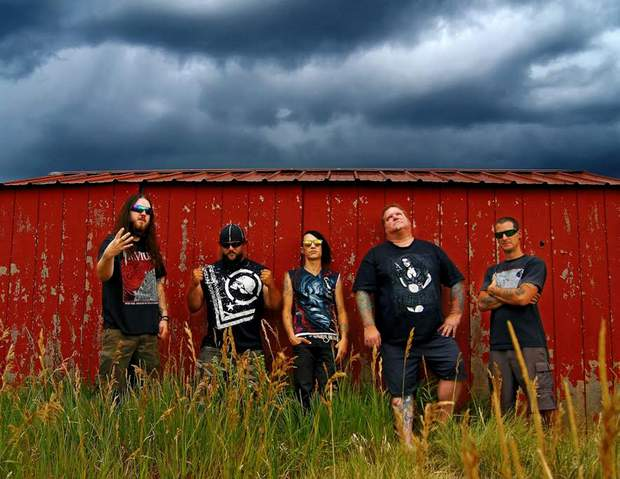 Members of the band Of Broken Dreams, from left, Kyle Dalton, Phillip Roberson, Jak Tha Ripper, Scott DeForest and Jim Barry, have been working to bring the third annual Durango Rockfest to Buckley Park on Saturday.