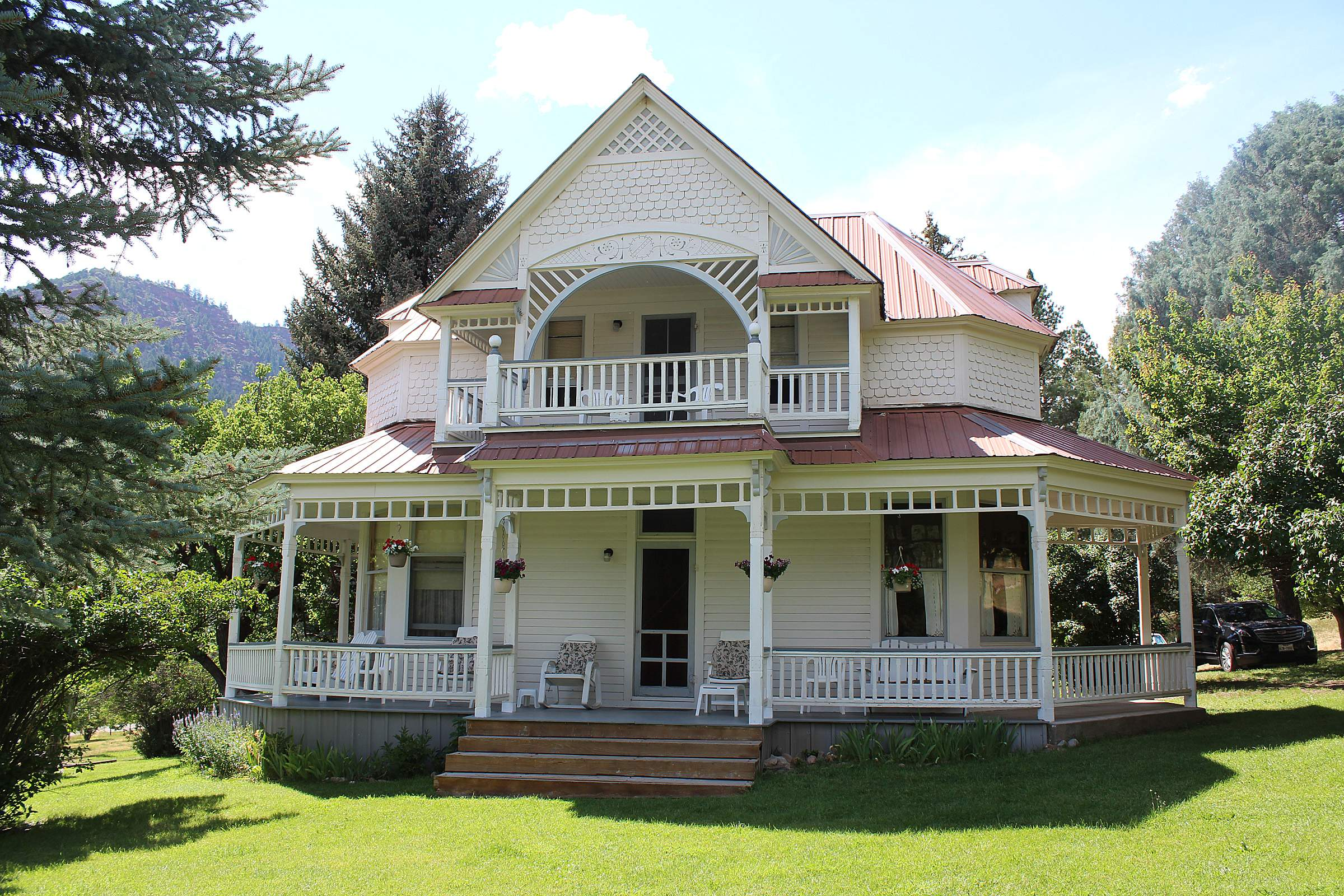 The Charles Fisher House, Built In 1891 In Hermosa, Is One Of The Most  Historic Properties In The Animas River Valley. Fisher Opened The First  Brewery On ...