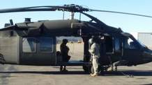 A Black Hawk crew from the New Mexico National Guard was unable to find any new clues on a night mission Monday. The Black Hawk will try again on a day mission Tuesday.
