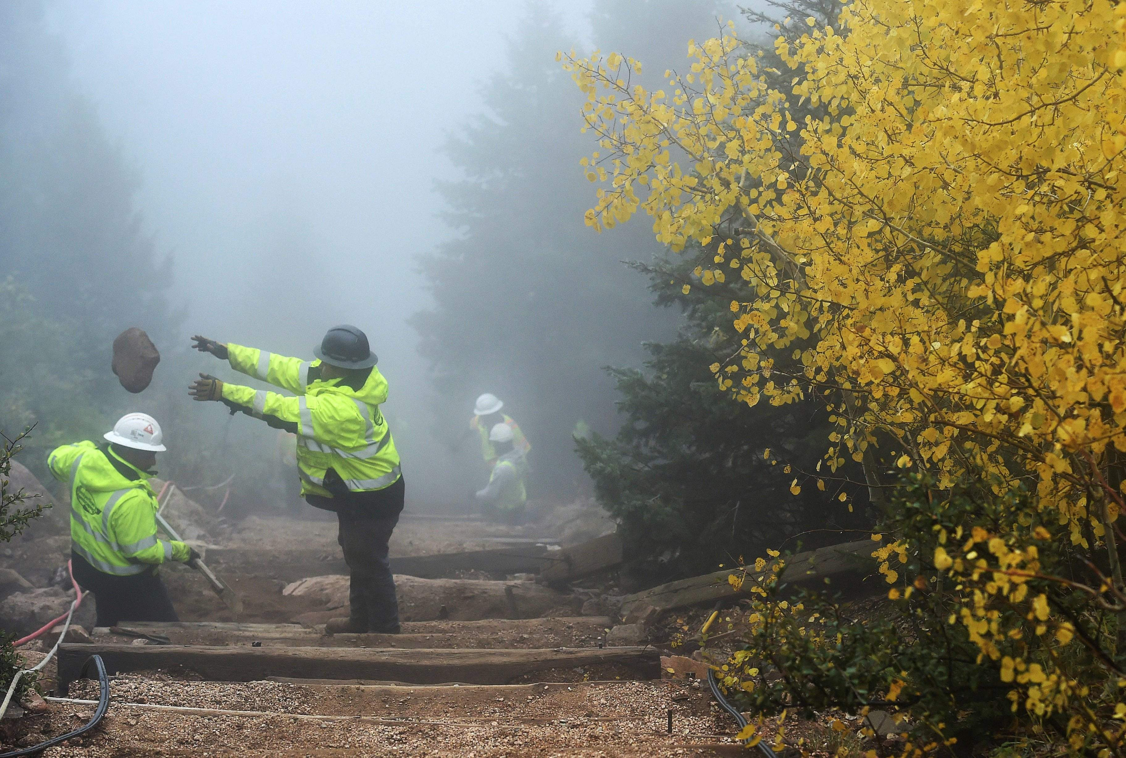 Durango Colorado Brutal conditions challenge workers on Manitou Incline News 60x60 image