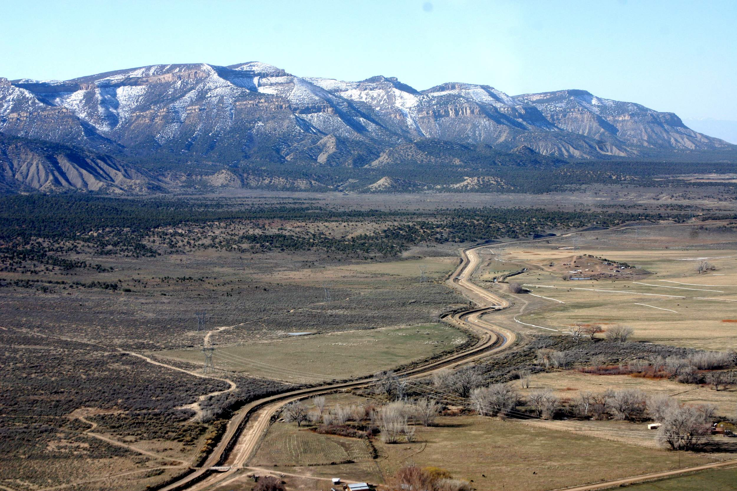The Master Lease Plan Proposal Includes The Mesa Verde Escarpment, Where No  Surface Drilling Is Allowed. The U.S. Department Of Interior May Rescind  Masster ...