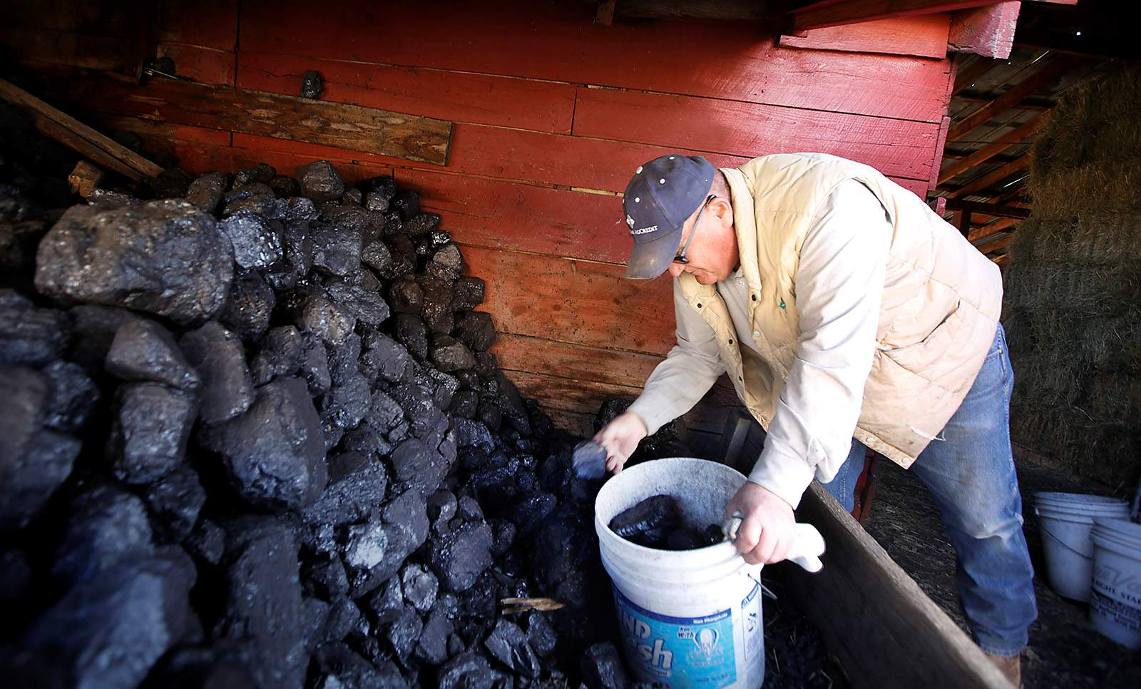 Monte Miller Purchases Coal From Hay Gulch Coal In La Plata County To Heat  His Home South Of Bayfield. Coal Provides An Economical Source Of Heat  Through ...
