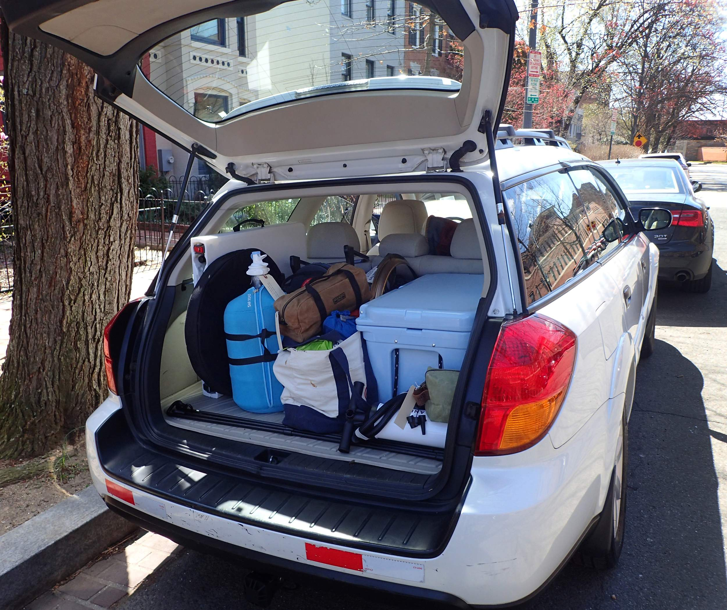 Trailhead Outdoor Journey Cooperative Provides Customers With A Subaru Filled Camping Gear