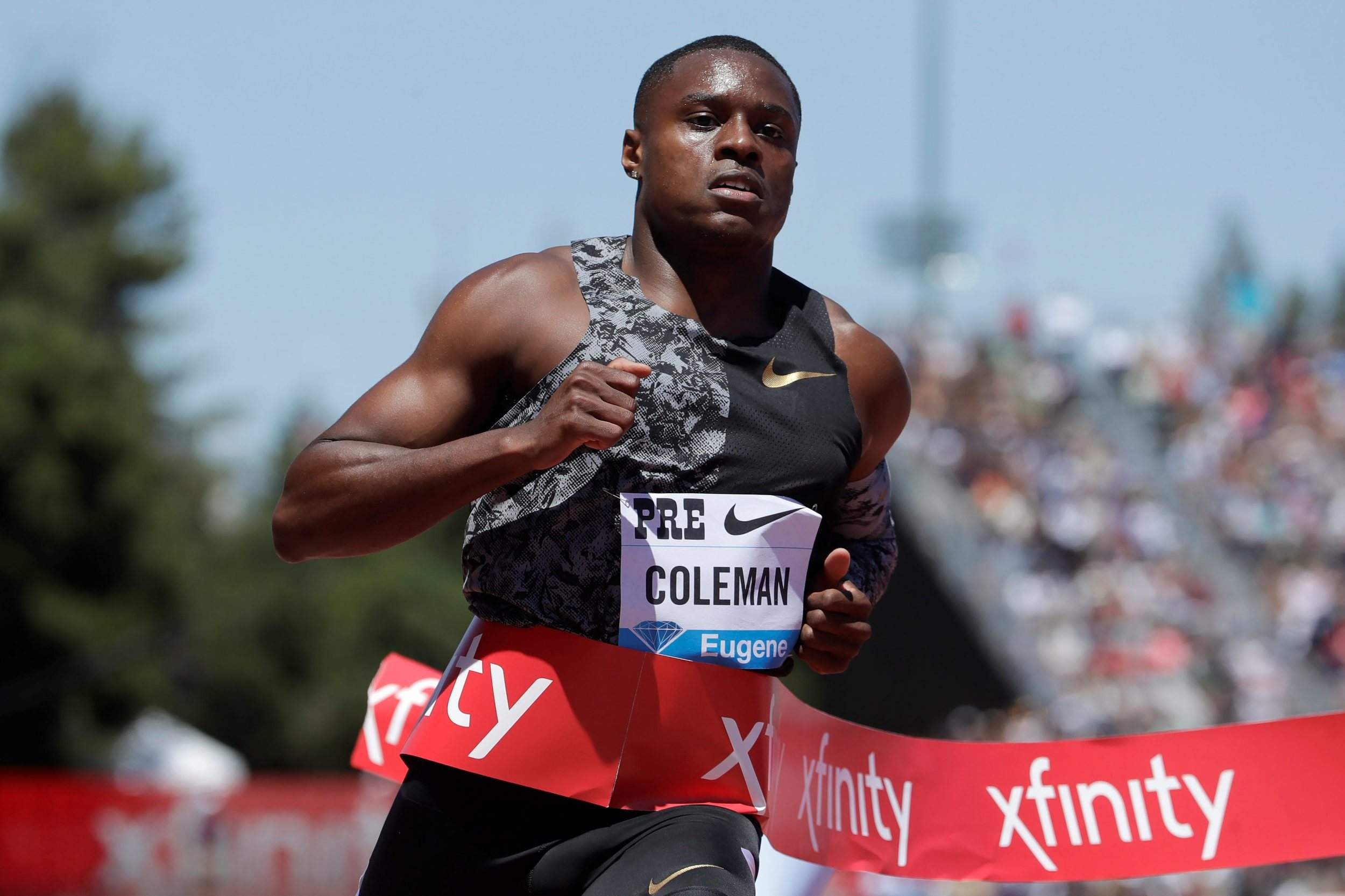 Christian Coleman facing missed drugs test allegations