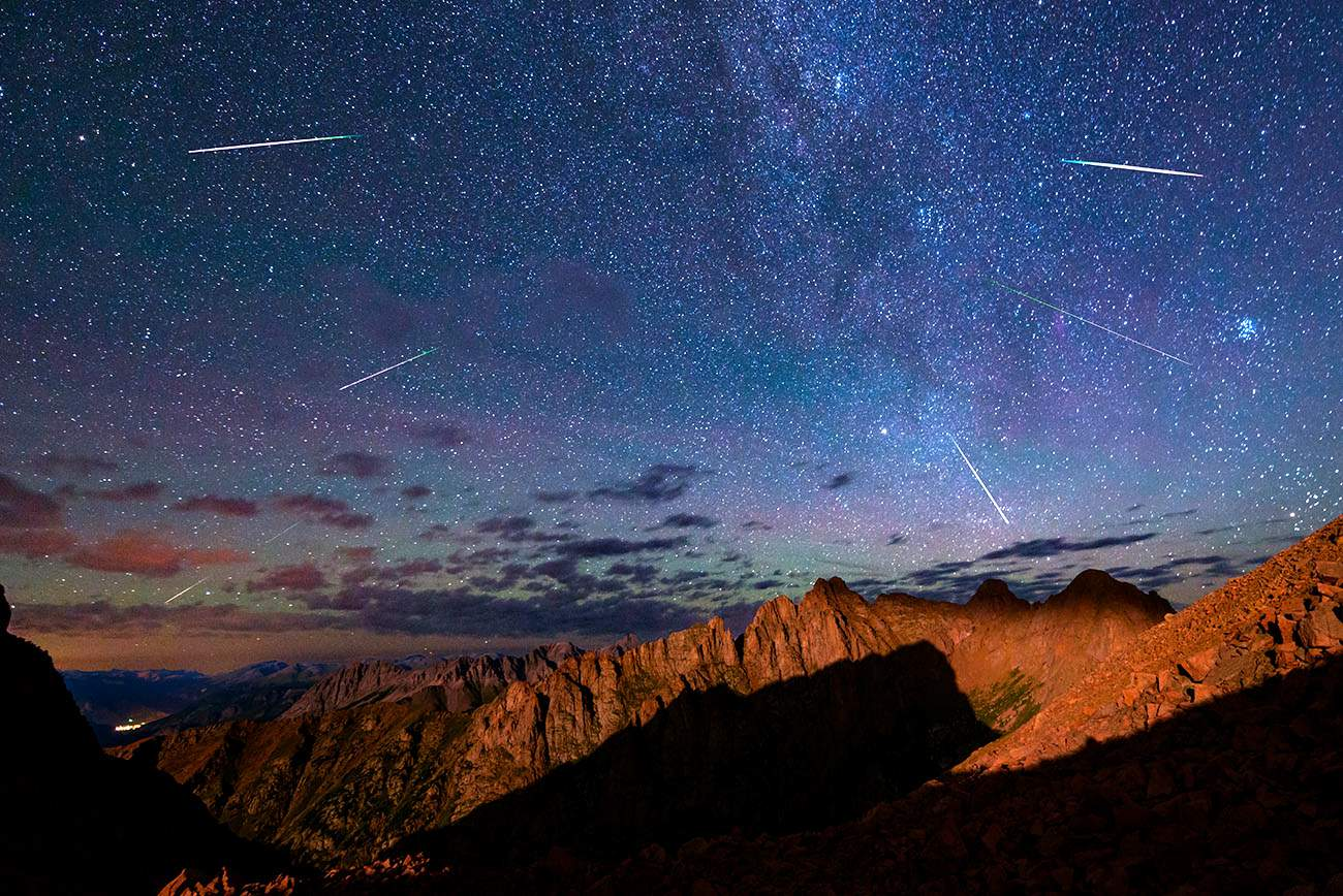 Perseid Meteor Shower - How to see it
