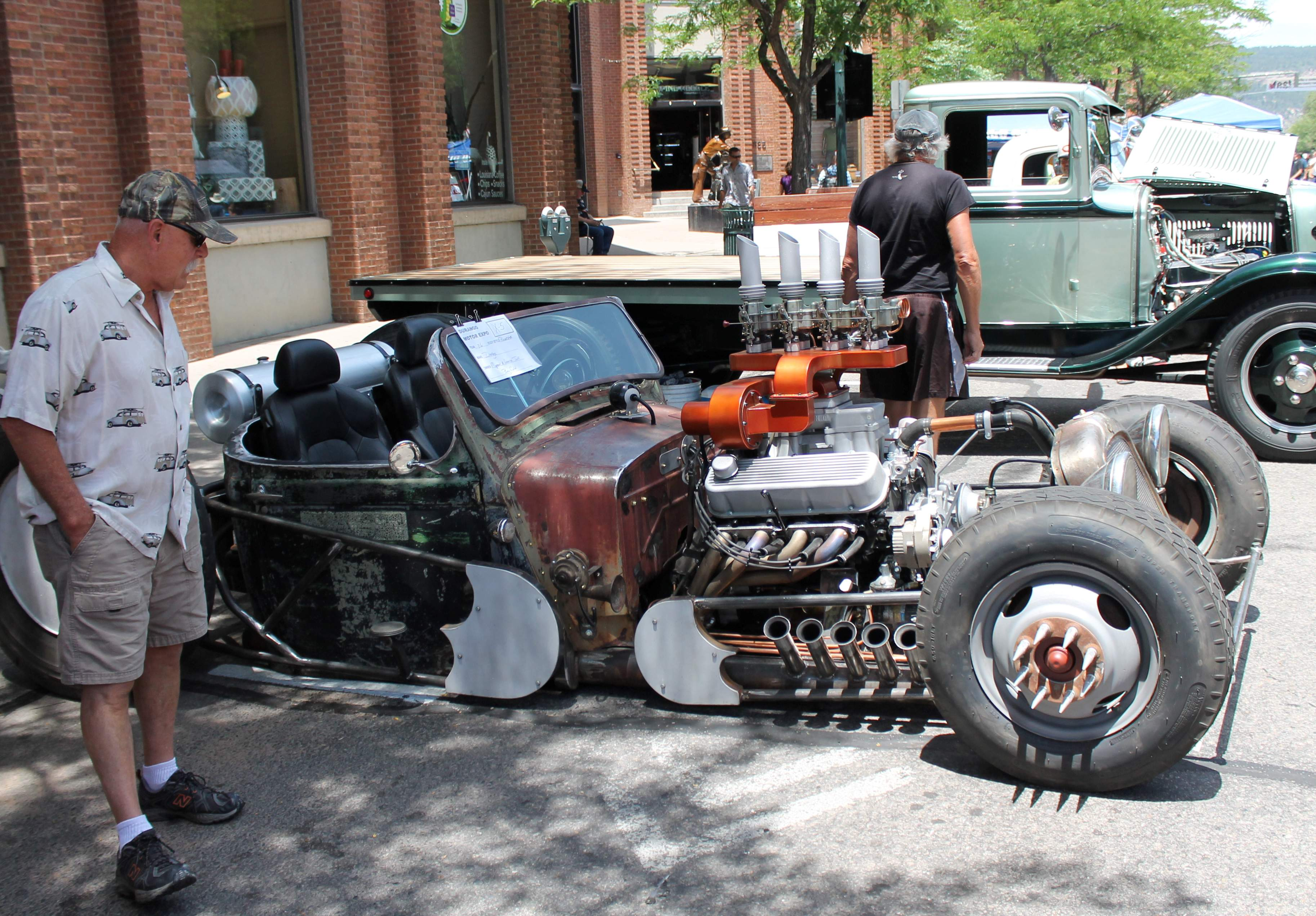Hot rods for a hot day