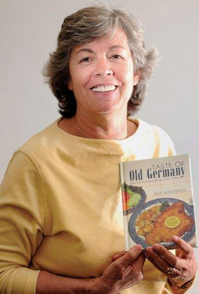Woman records German recipes from popular Dolores restaurant