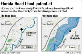 Year Study Consolidates County Maps Homeowners Now In Flood Plain - Florida flood plain map