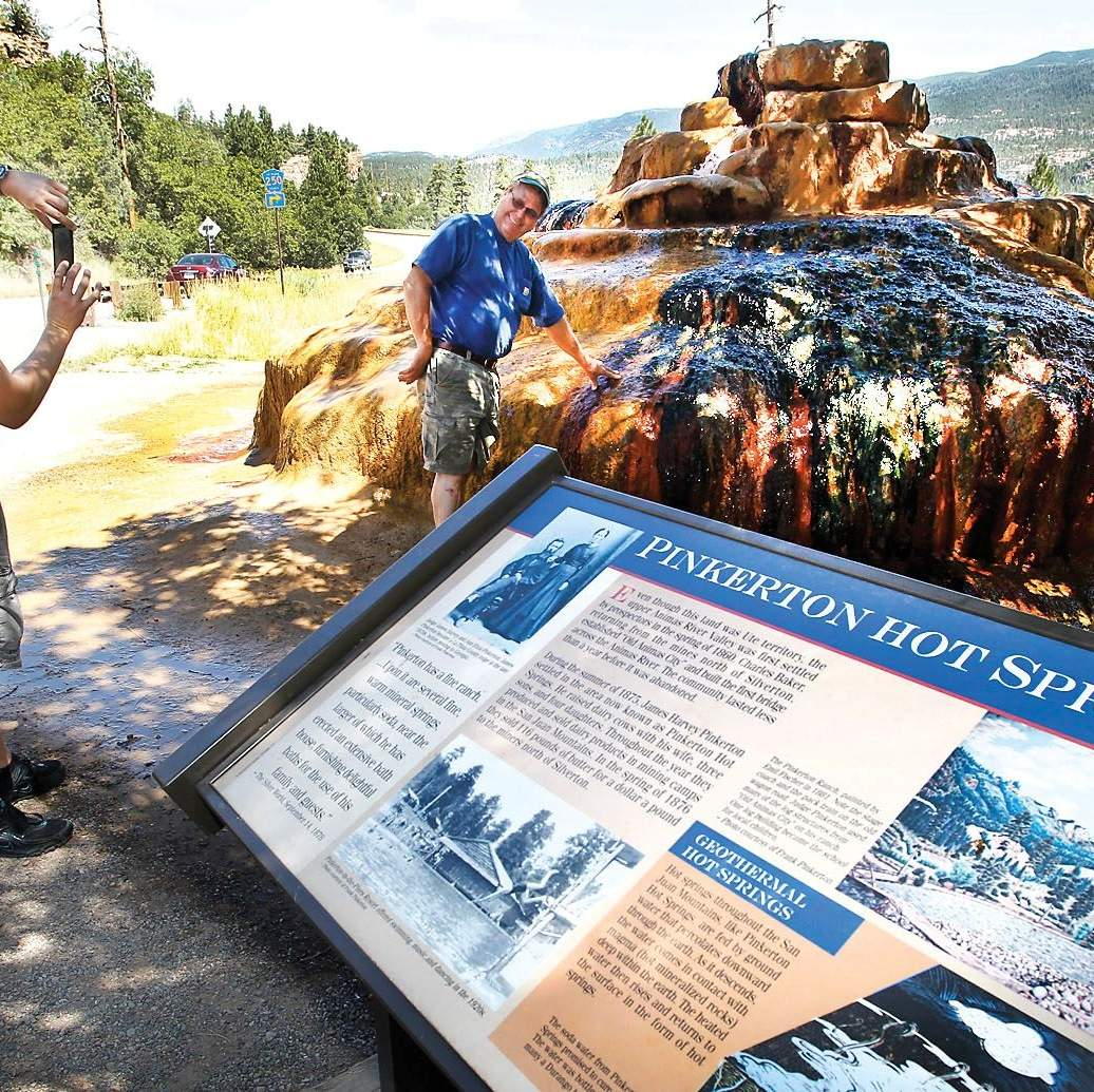 Durango Hot Springs >> Roadside Attraction A Hot Spot