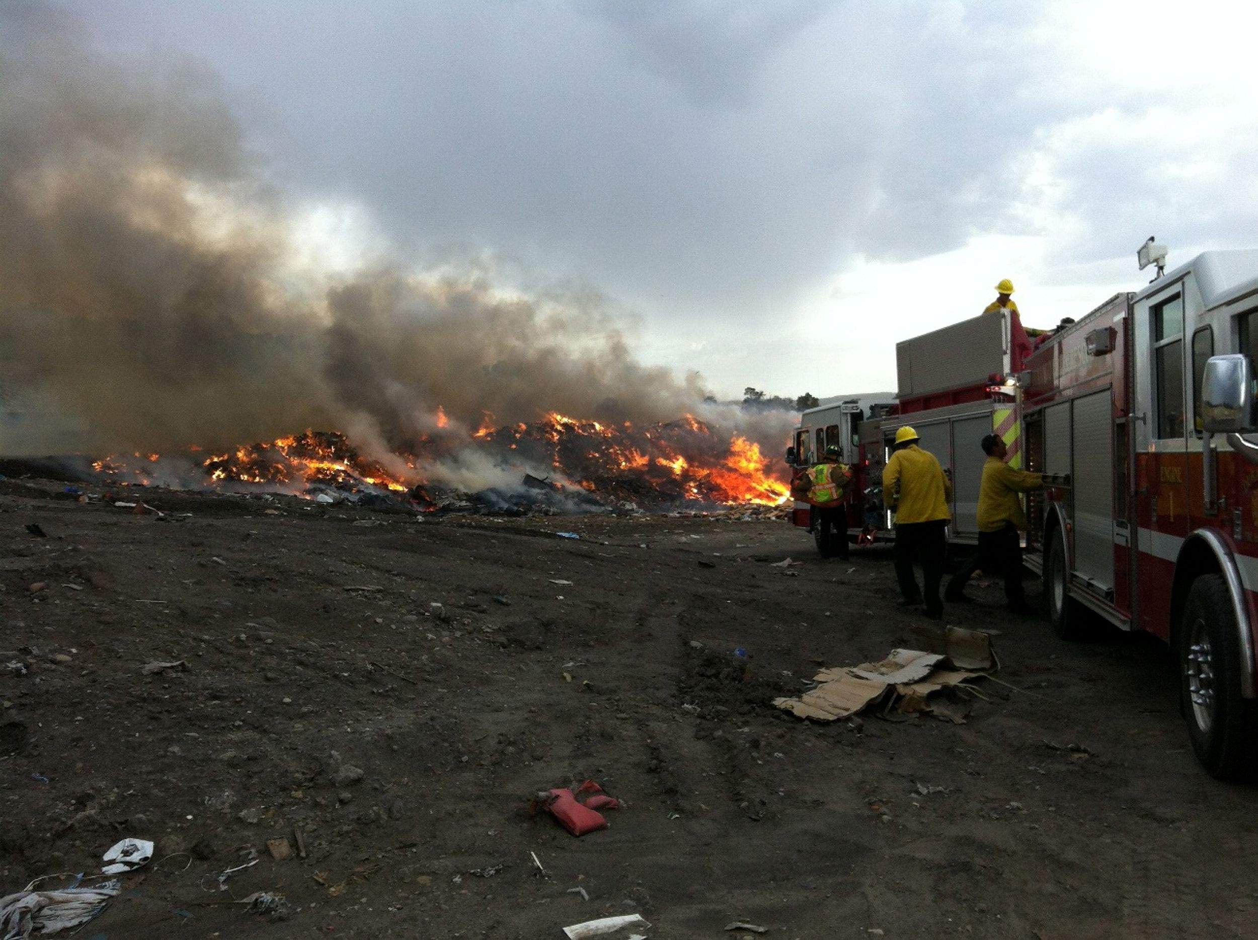 Indian Reservation Loans >> Bondad Landfill catches fire