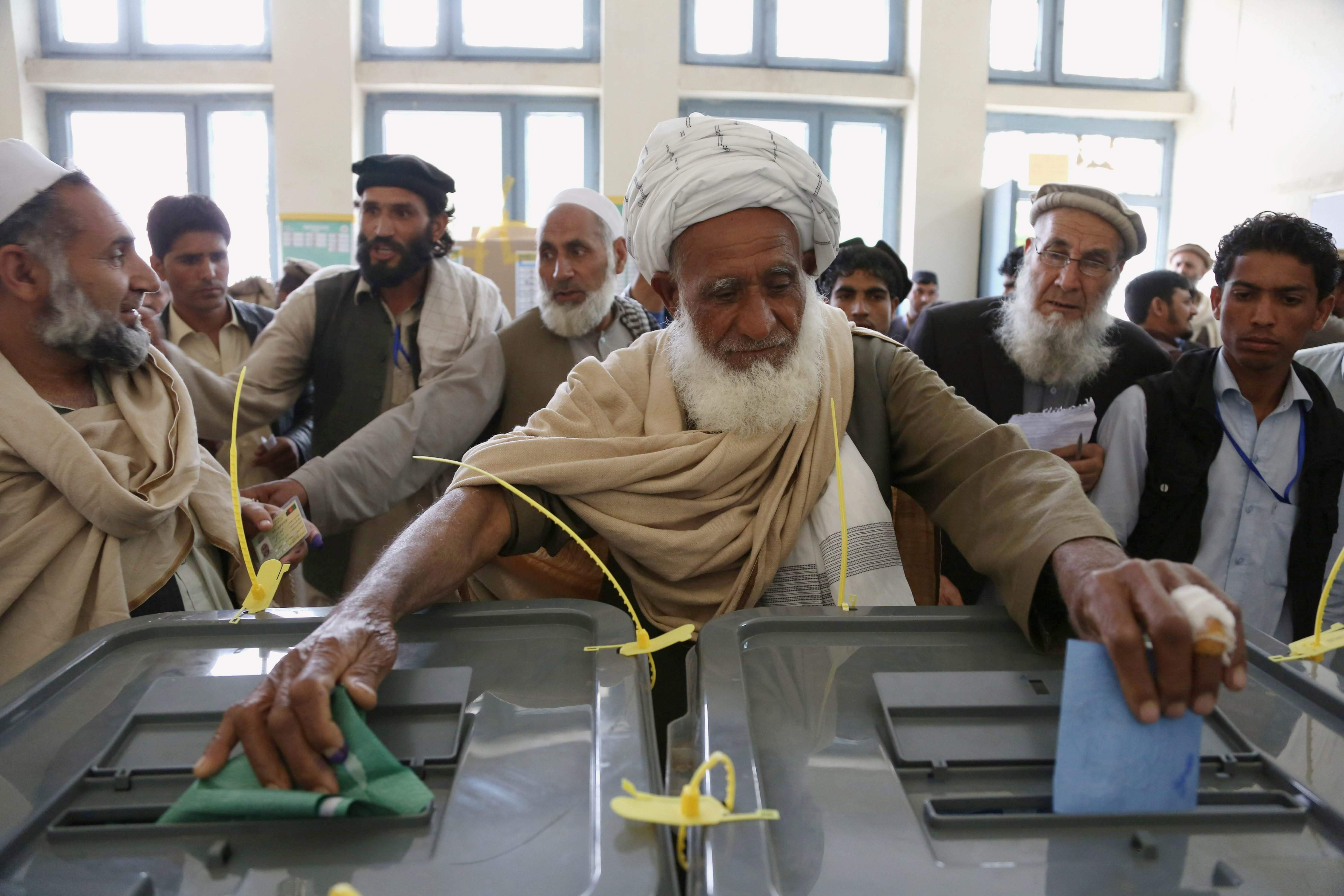Image result for Afghan voting HD