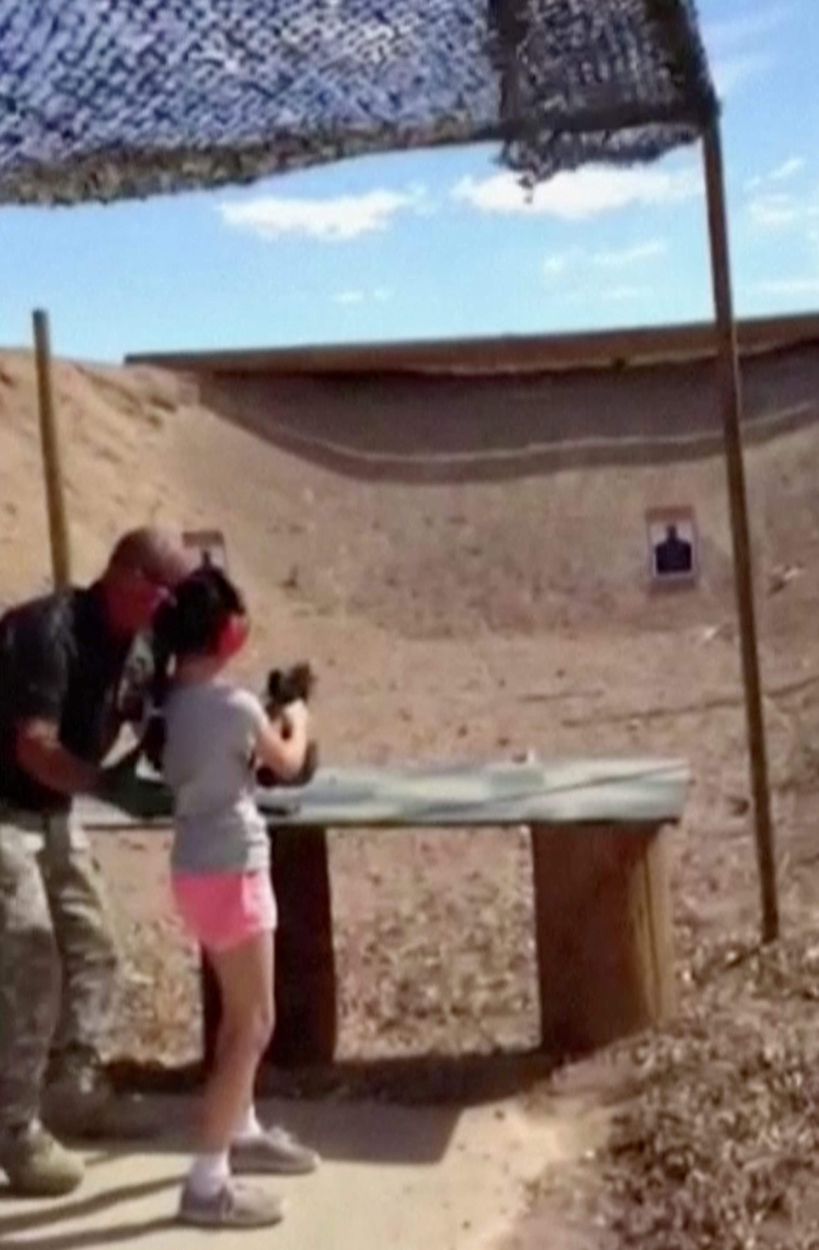 Family of girl who fired Uzi is devastated