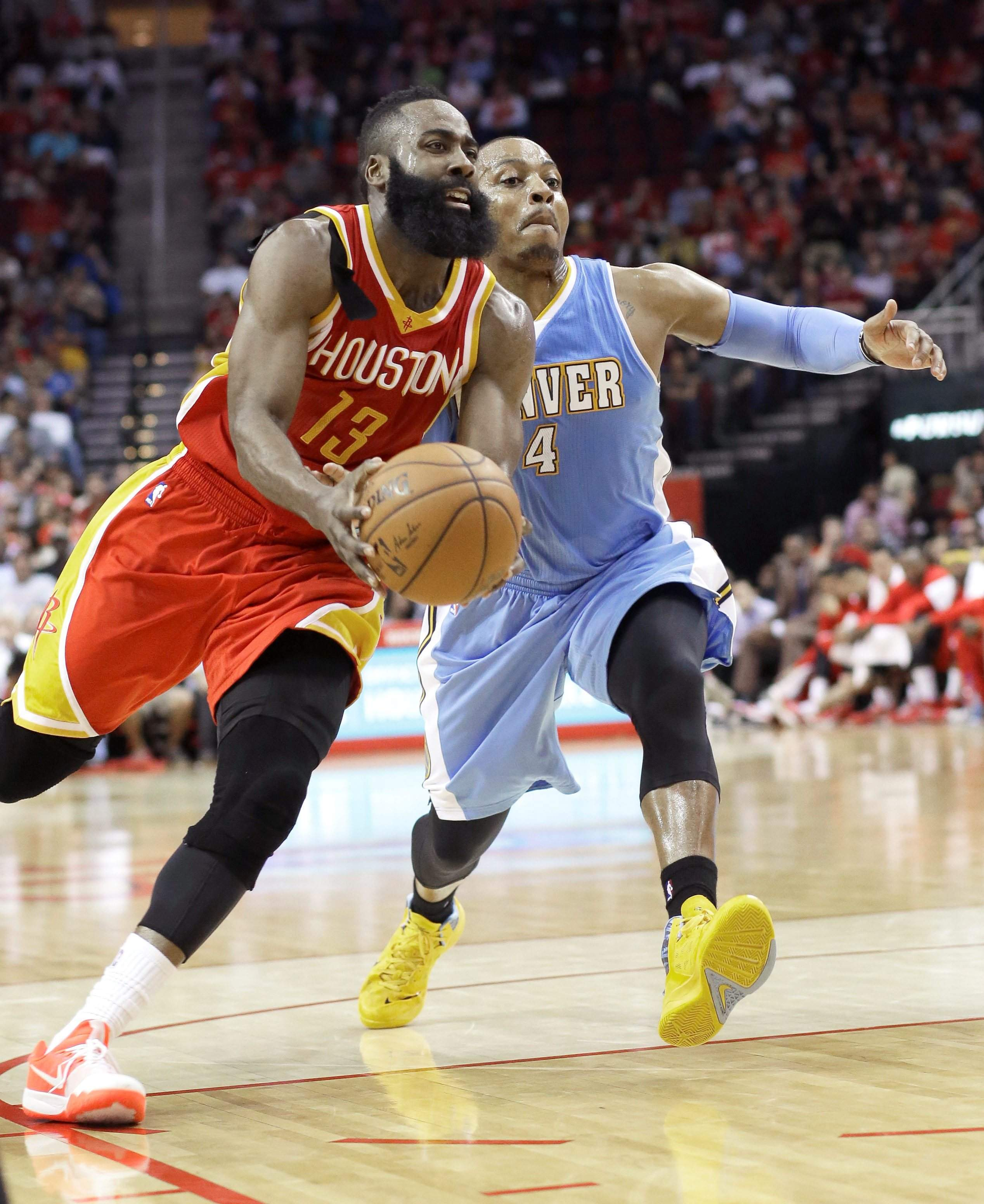 50 år vers Harden's career best 50 leads Rockets over Nuggets 118 108 50 år vers