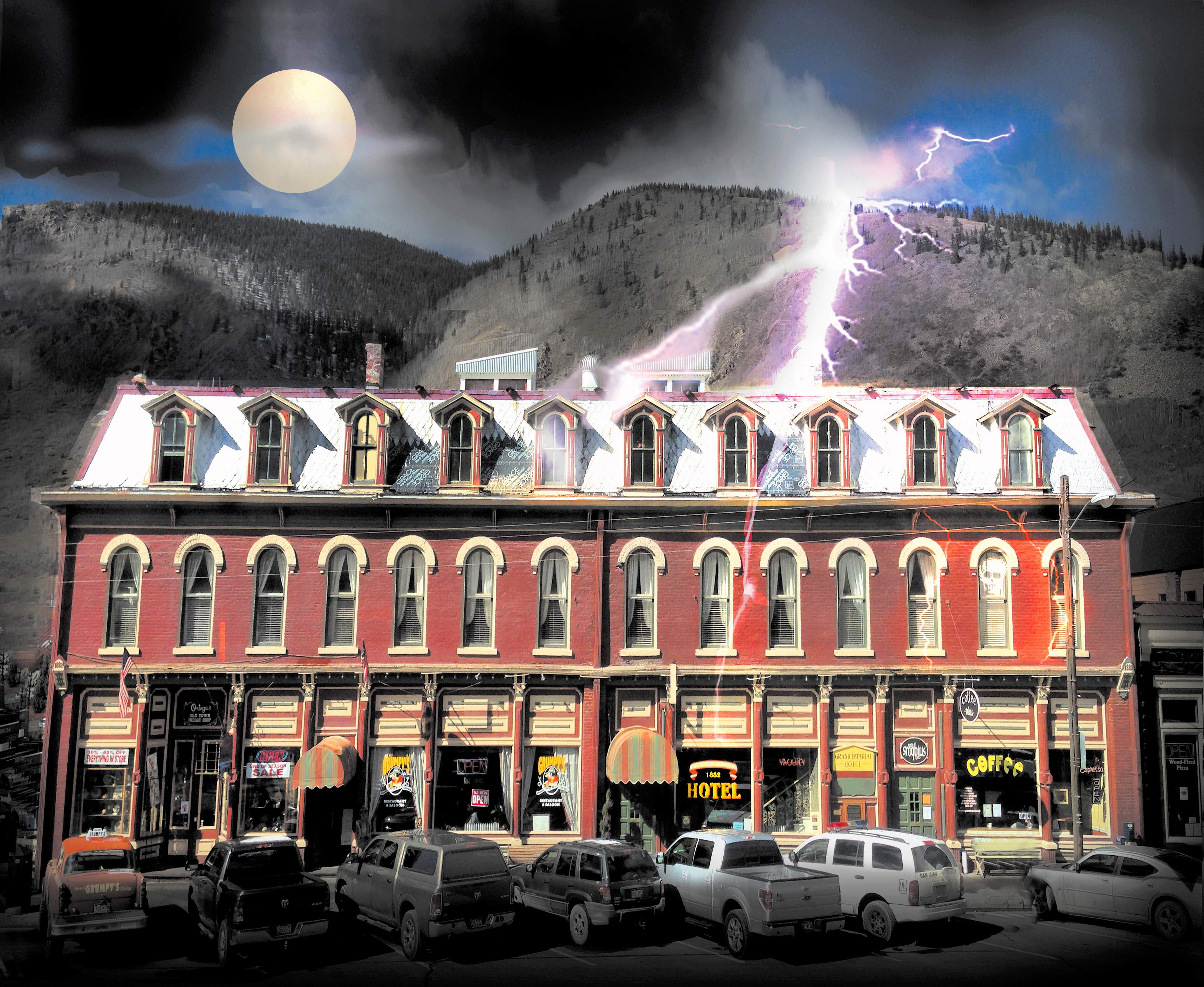 Is A Ghost Haunting The Grand Imperial In Silverton