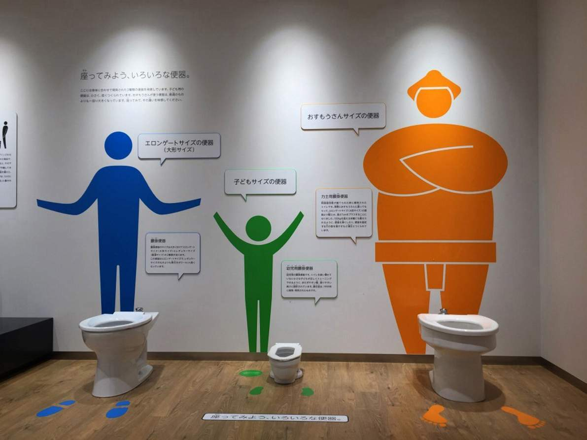 Toilets are major obsession for people in Japan