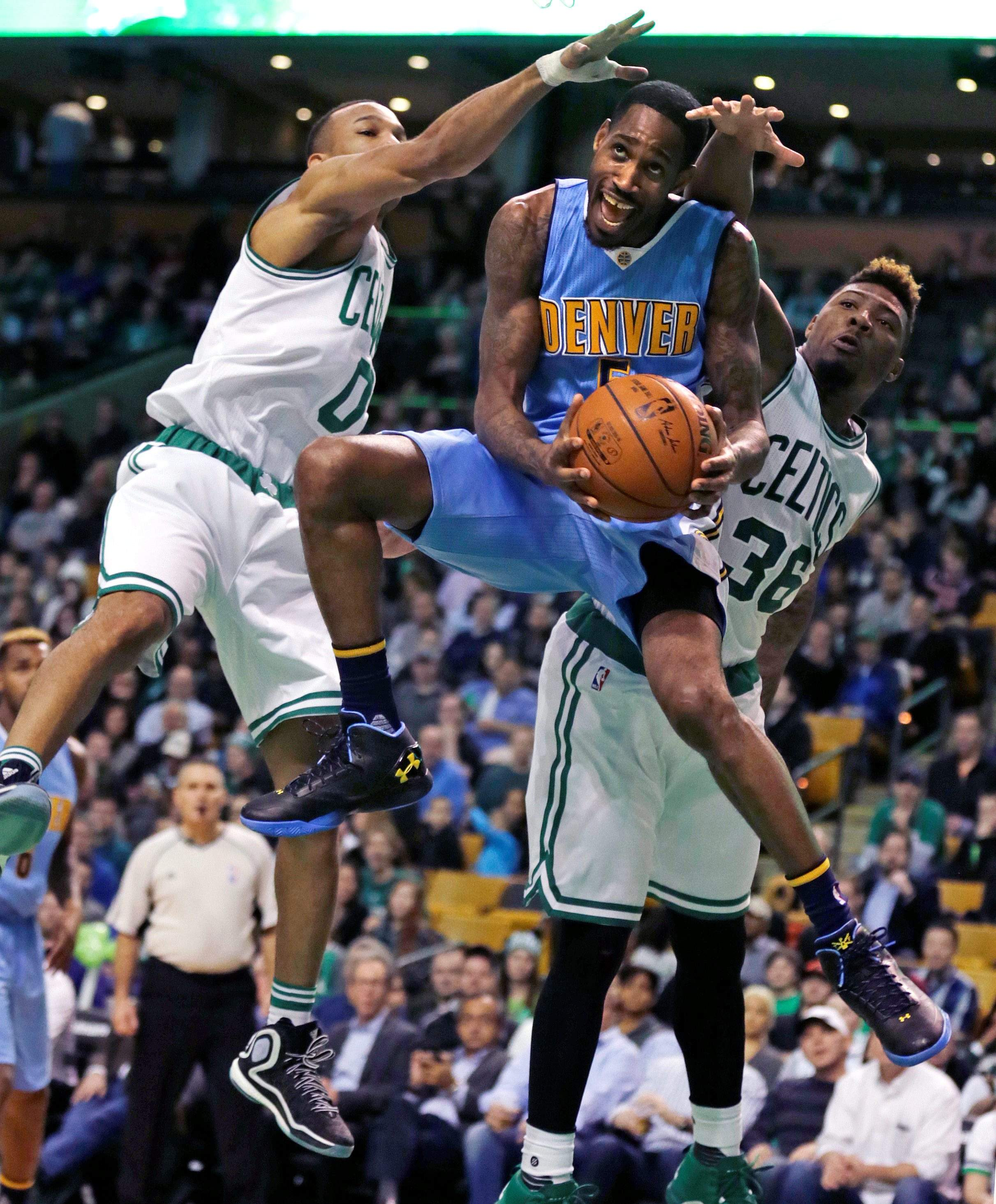 Avery Bradley Matches Season-high 27, Celtics Down Nuggets