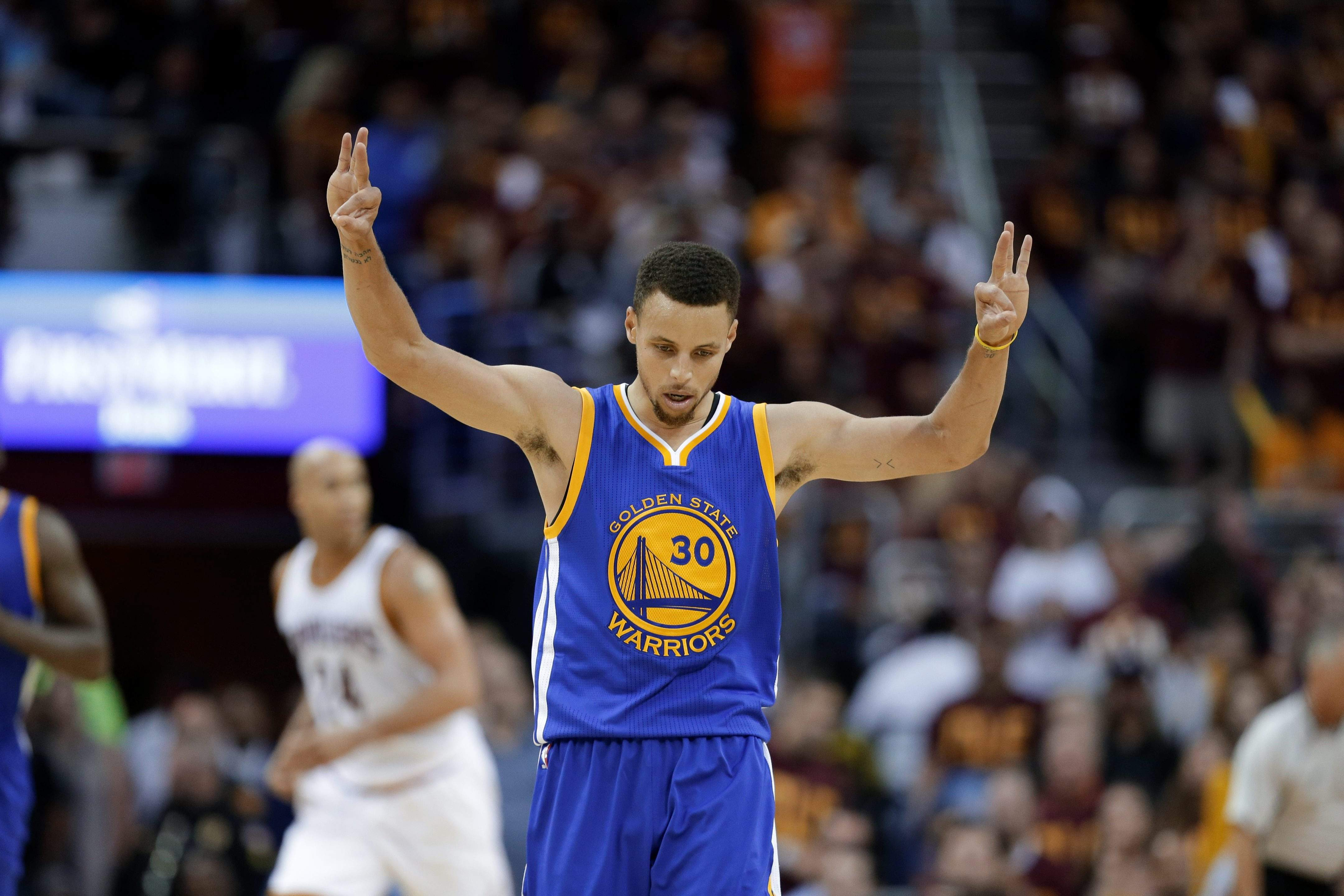 Stephen Curry (30) and the Golden State Warriors used their sharp 3-point  shooting to win a third game of the NBA Finals and take a 3-1 series lead  on the ... 62163fb3431b