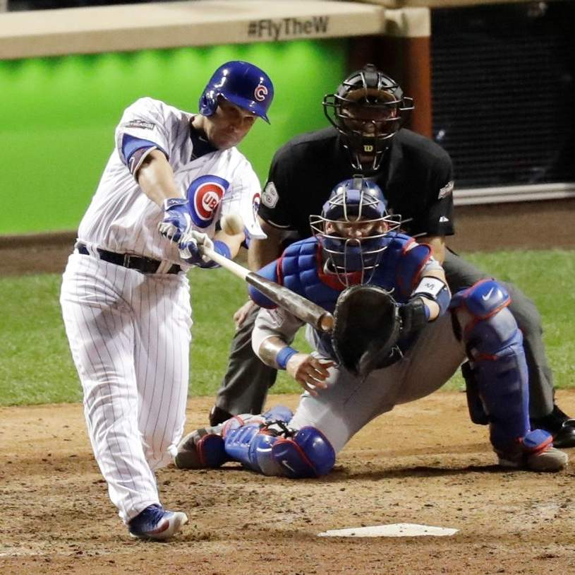 Montero lifts Cubs to grand NLCS Game 1 win against Dodgers