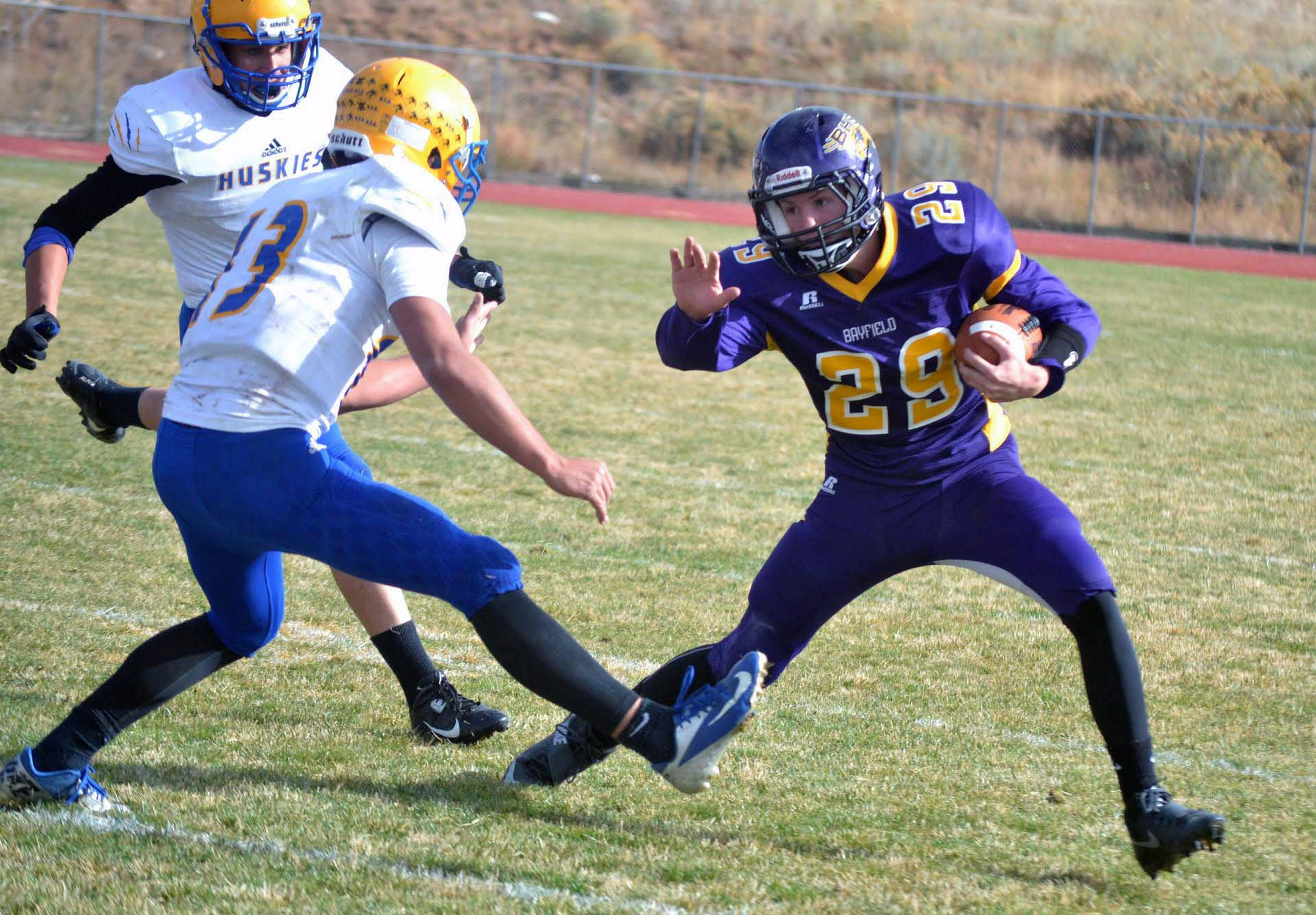 No 5 Bayfield football stands tall against No 12 Florence
