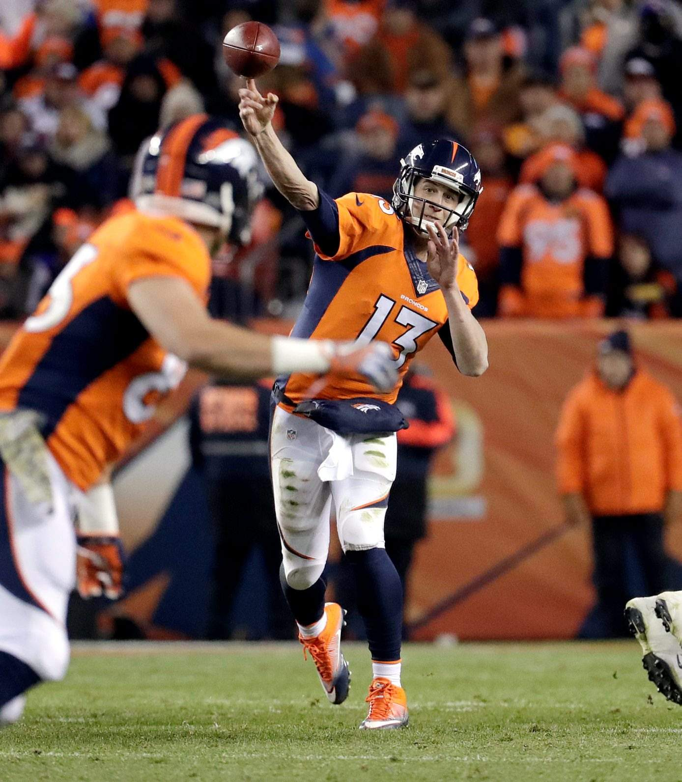 Denver Broncos QB Trevor Siemian Grounded By Foot Injury