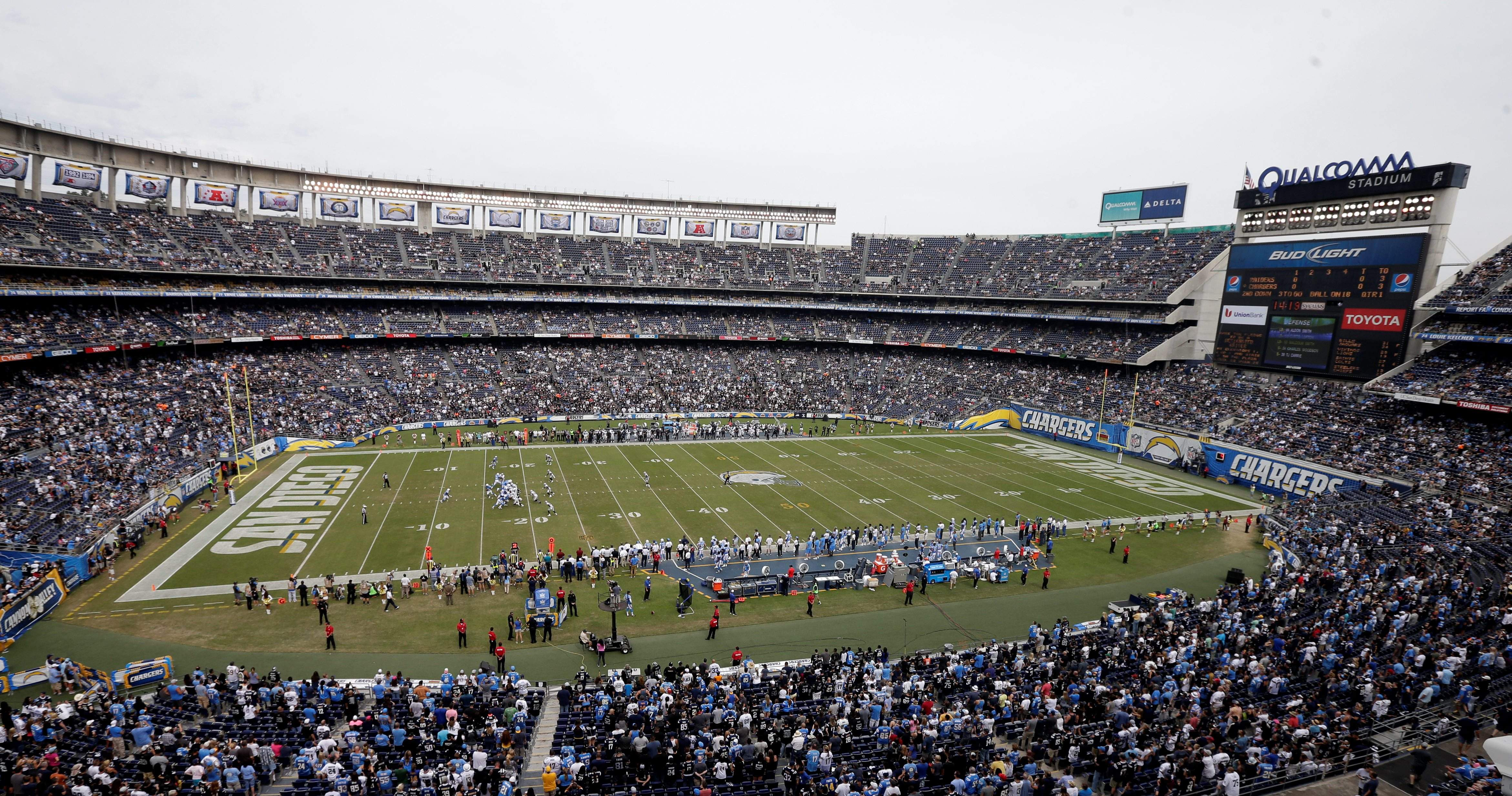 San Diego Chargers Are No More After Leaving For Los Angeles