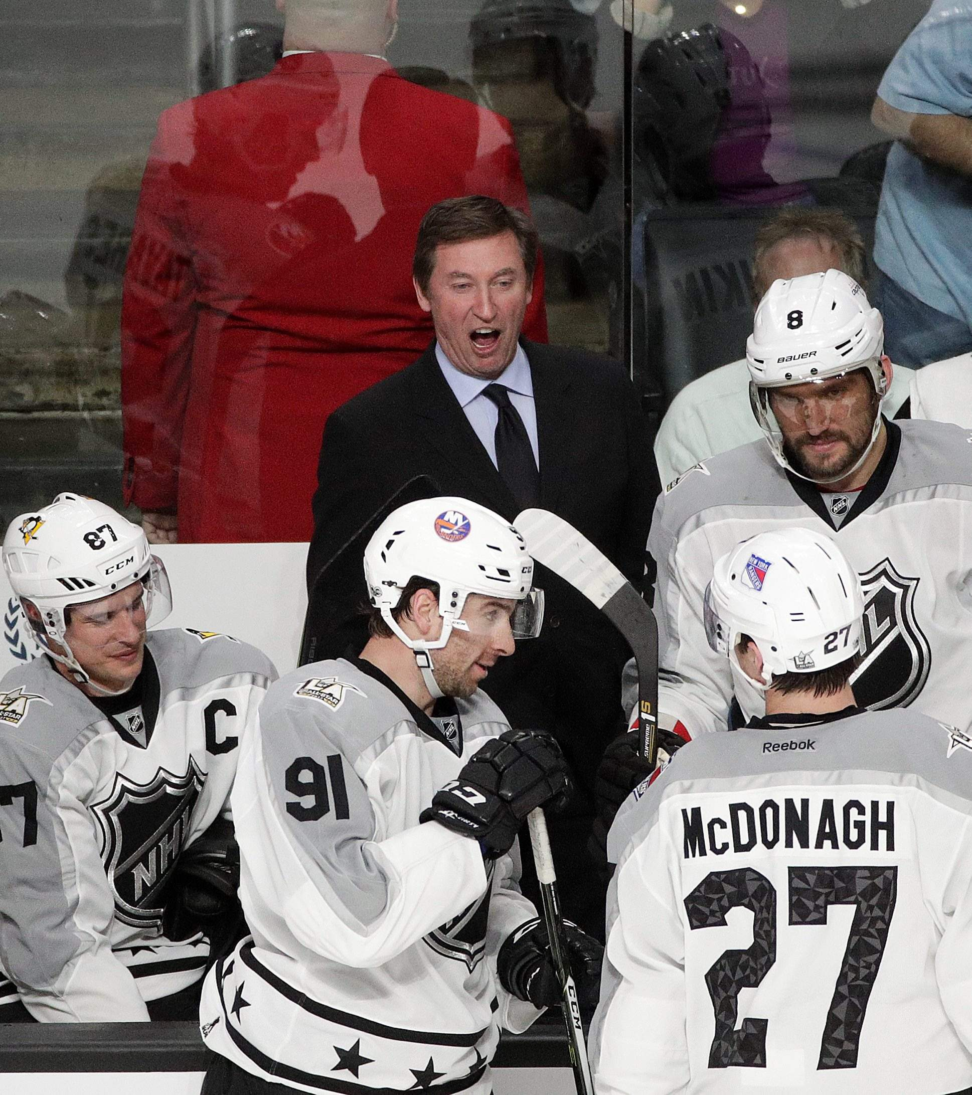 Wayne Gretzky leads team to NHL All-Star Game win 21e3f7330