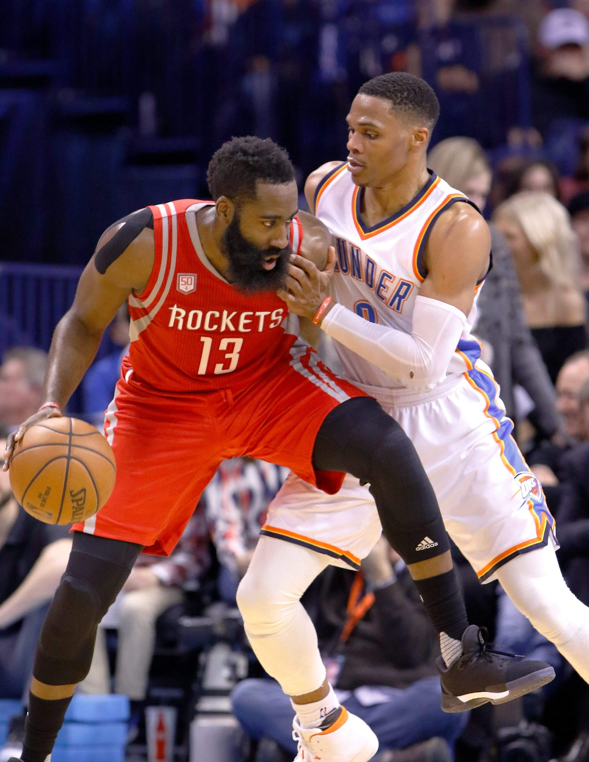 f8e58c711e7f Rusell Westbrook vs James Harden the highlight when NBA playoffs open