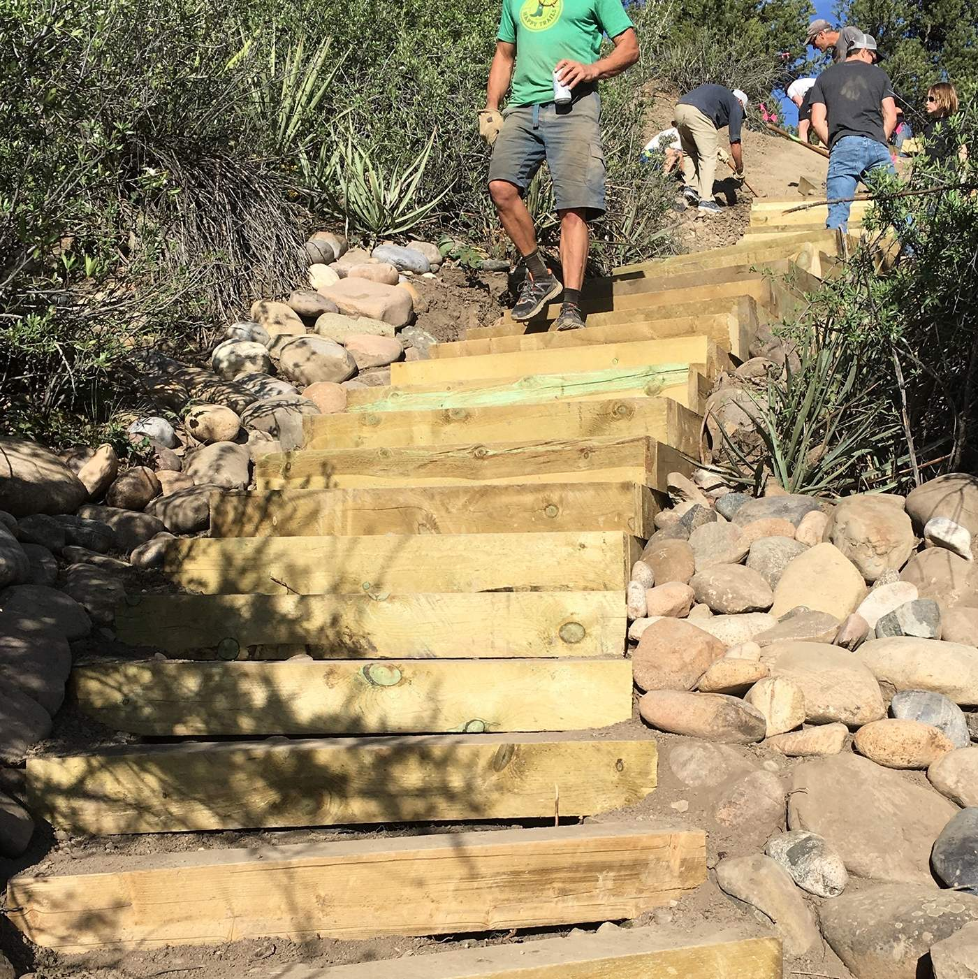 Trails 2000\'s \'Sky Steps\' to connect downtown Durango, Fort Lewis ...
