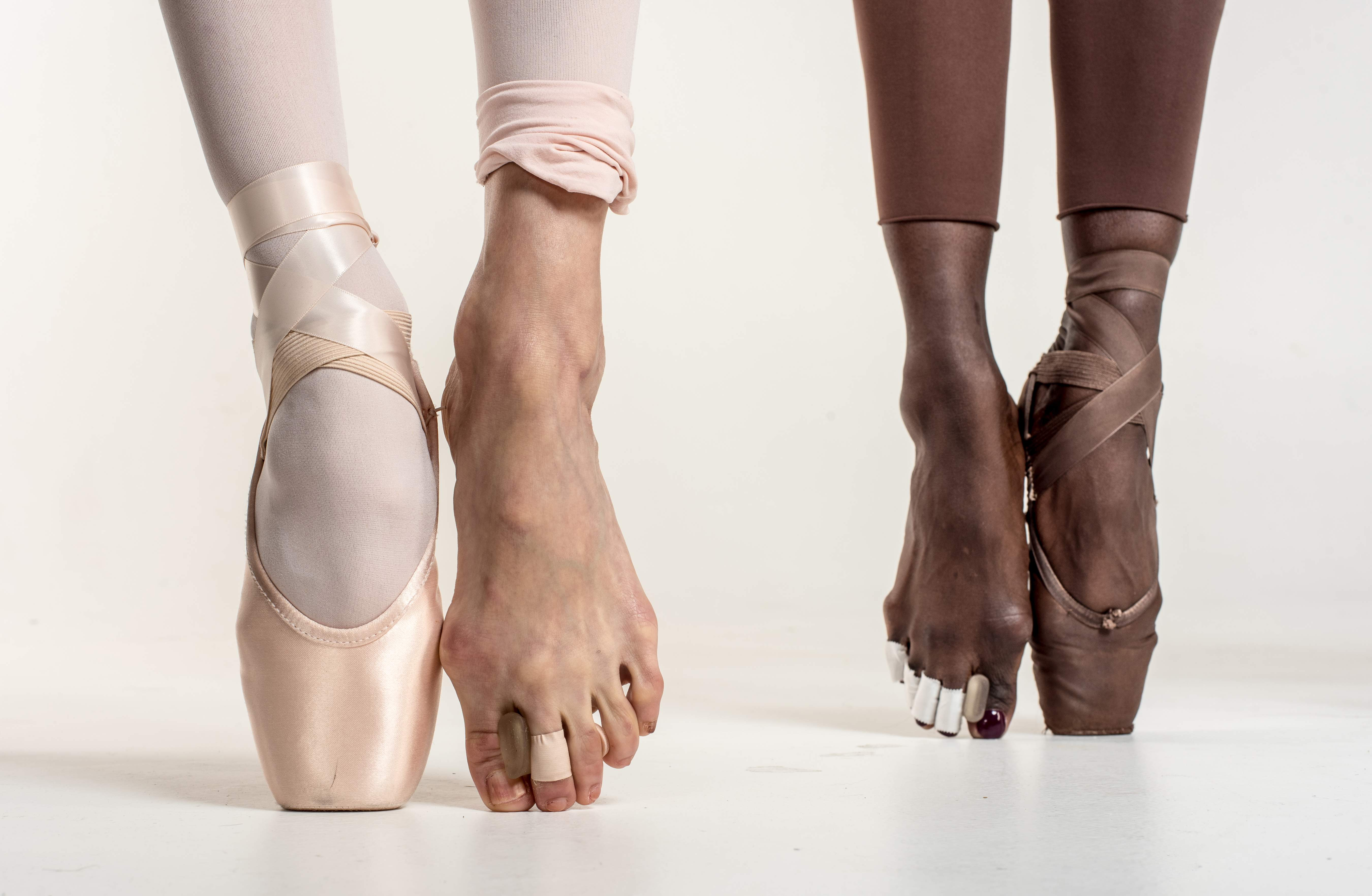 How To Dye Ballet Shoes Brown