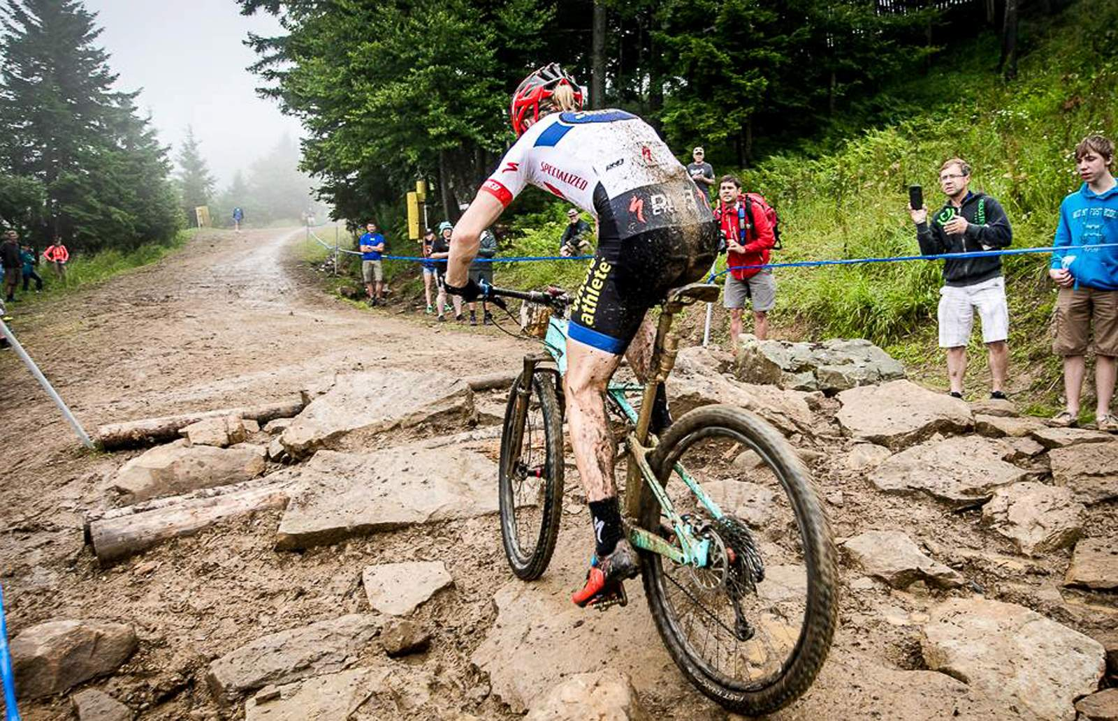 Quinn Simmons wins junior cross country mountain bike title
