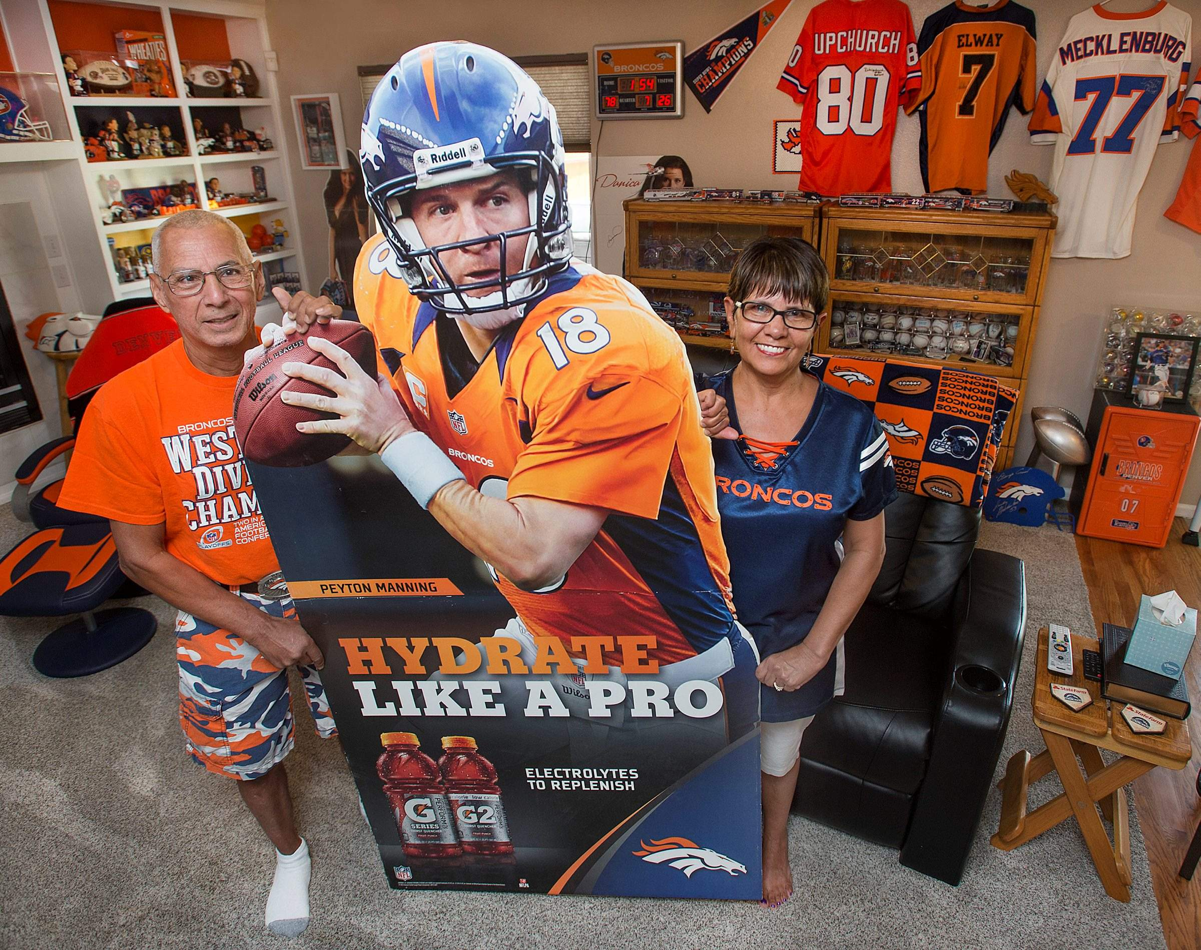 Colorado couple chase anything Broncos, Rockies, Nuggets