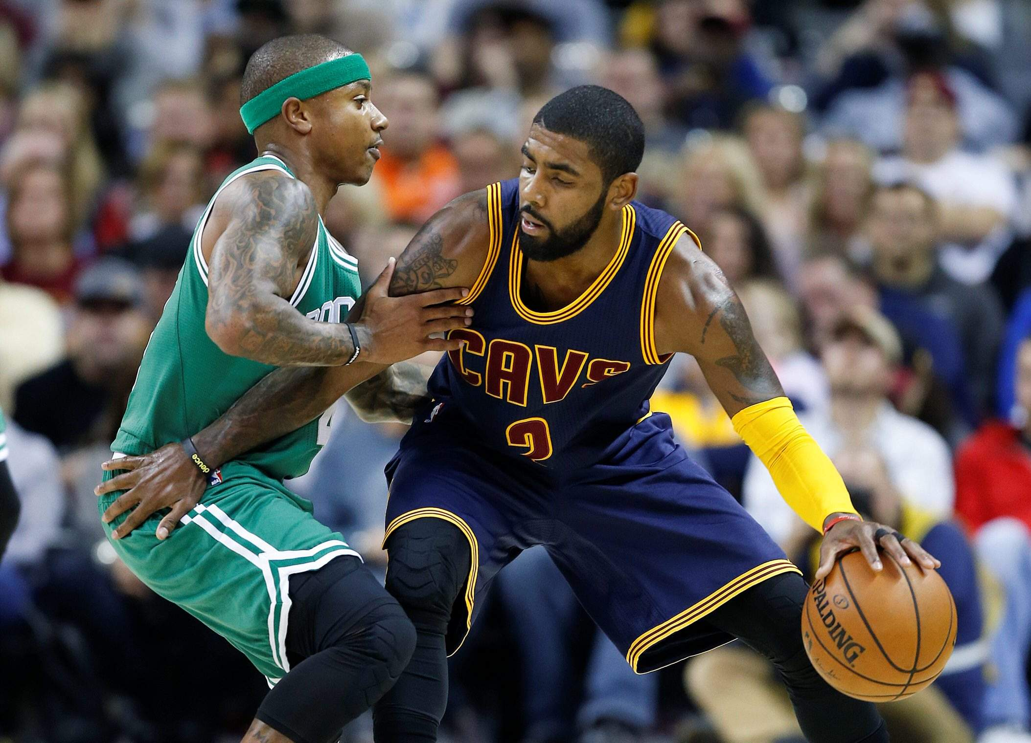 42a53ac4968 Cleveland Cavaliers trade Kyrie Irving to Boston Celtics for Isiah ...