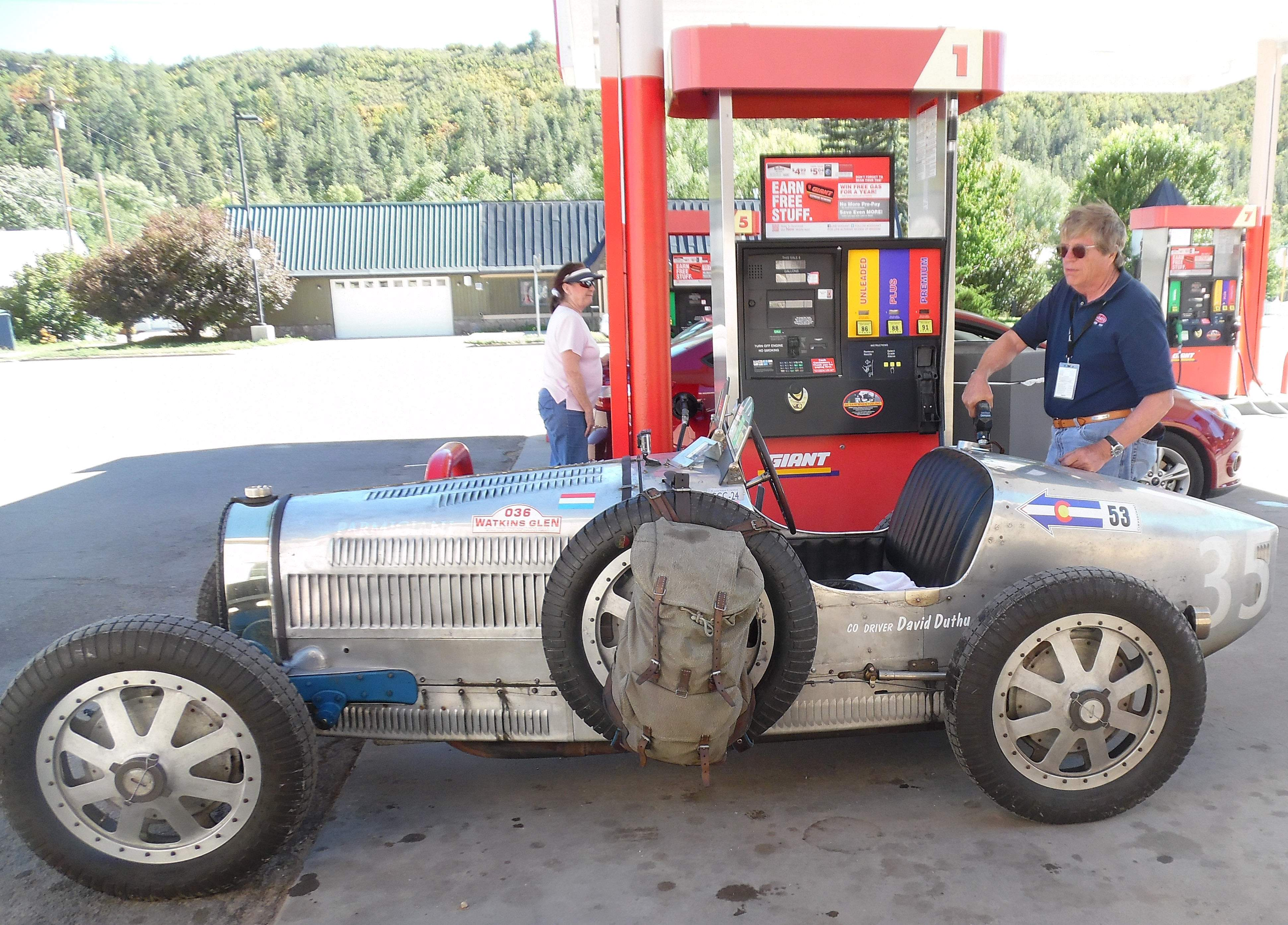 Classic race cars to stop in Telluride, Dolores, Ridgway