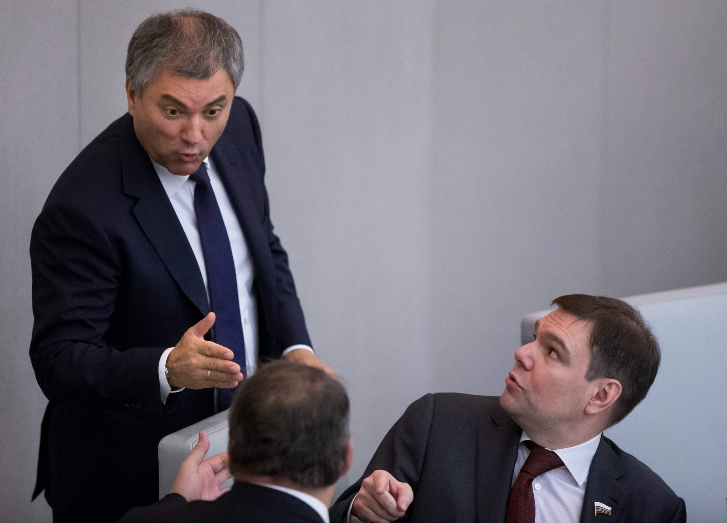 State Duma deputy denies that he was stuck in the hatch of the tank 09/14/2015 44