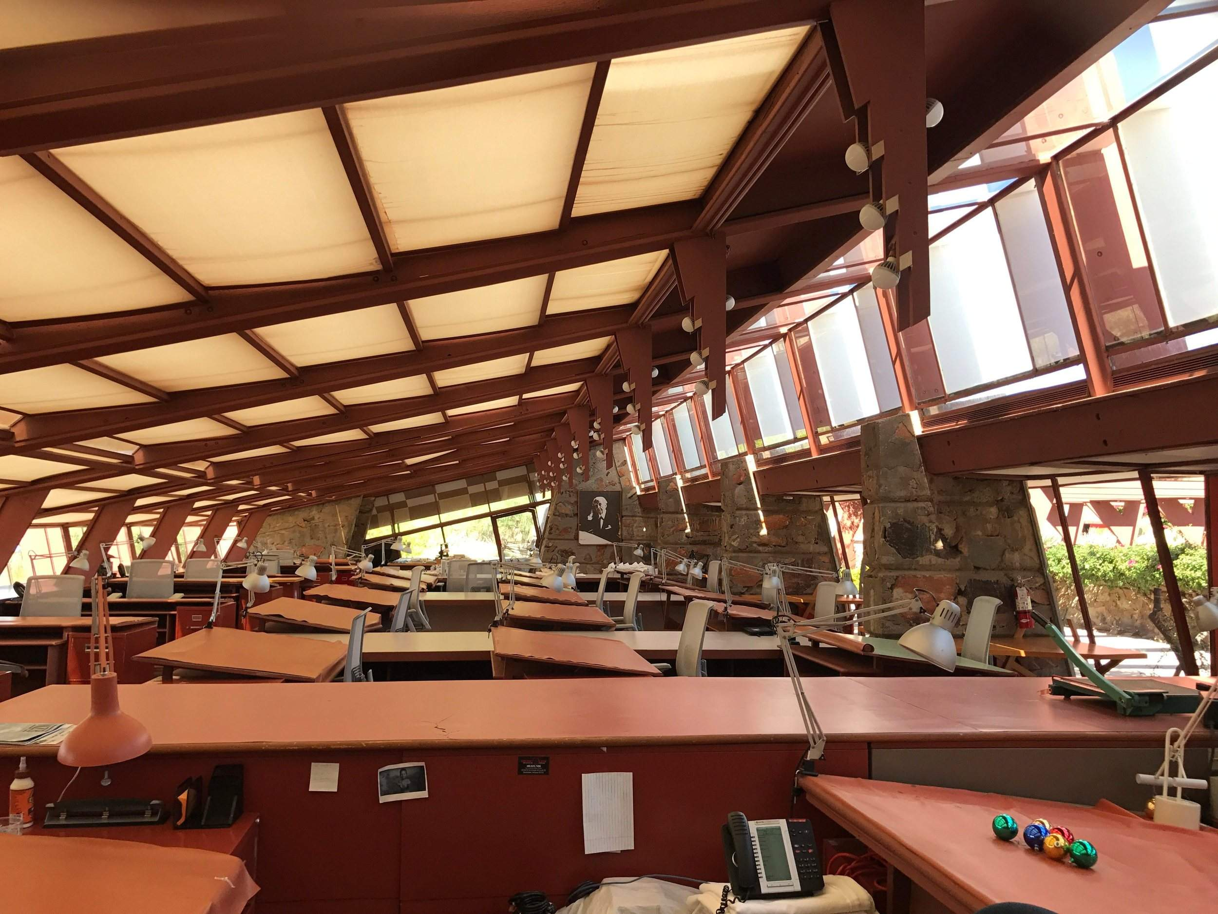 taliesin west a magnet for fans of architect frank lloyd wright