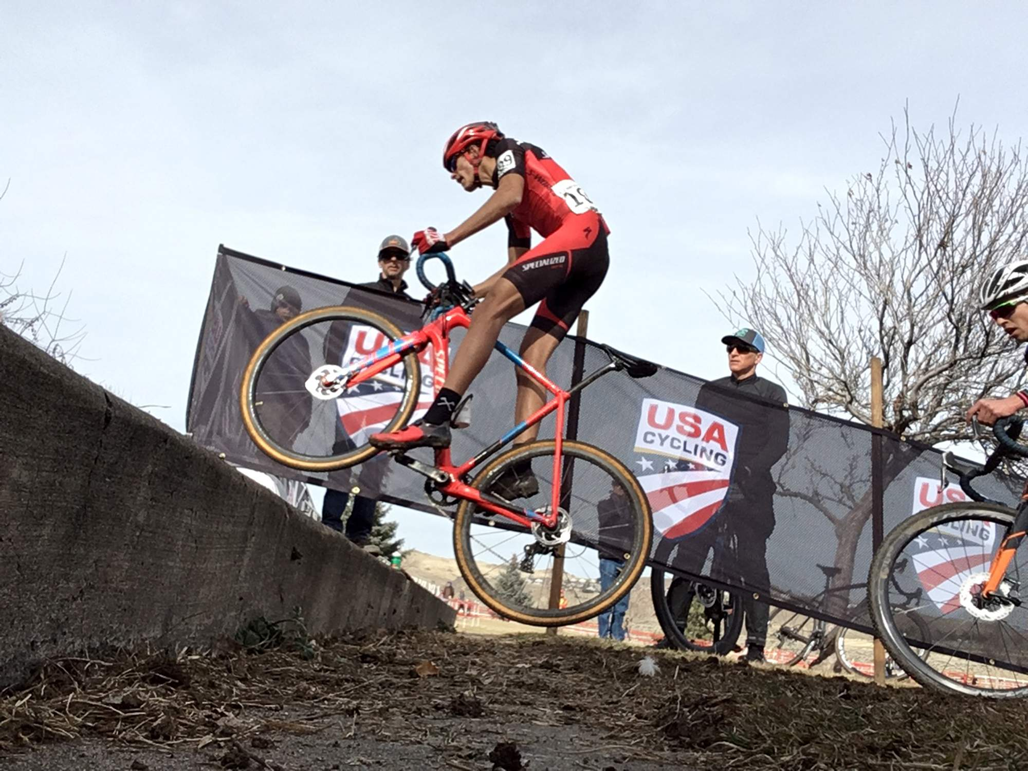 d8640ea3e97 Durango's Christopher Blevins soared to a men's under-23 cyclocross  national championship Sunday in Reno, Nevada.