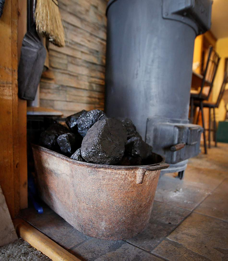 Monte Miller Uses Coal To Heat His Home South Of Bayfield. The King II Coal  Mine In Western La Plata County Provides Coal To Hay Gulch Coal, Which  Sells The ...