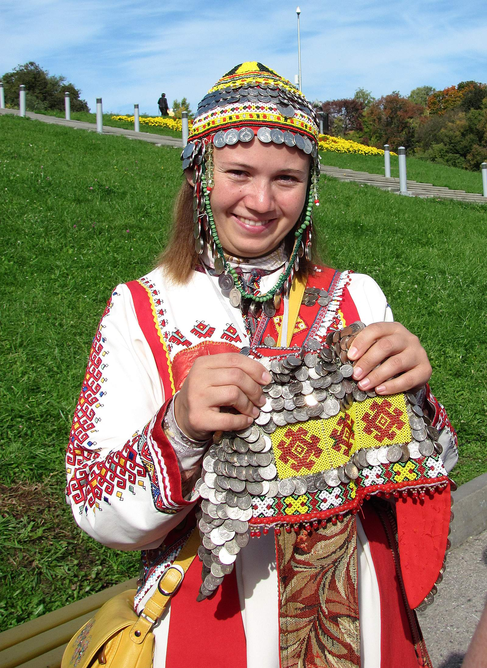 99e19641cf3f This young woman was among a group that met cruise passengers at Cheboksary  in native Chuvashi dress. She explained that married and unmarried women  wore ...