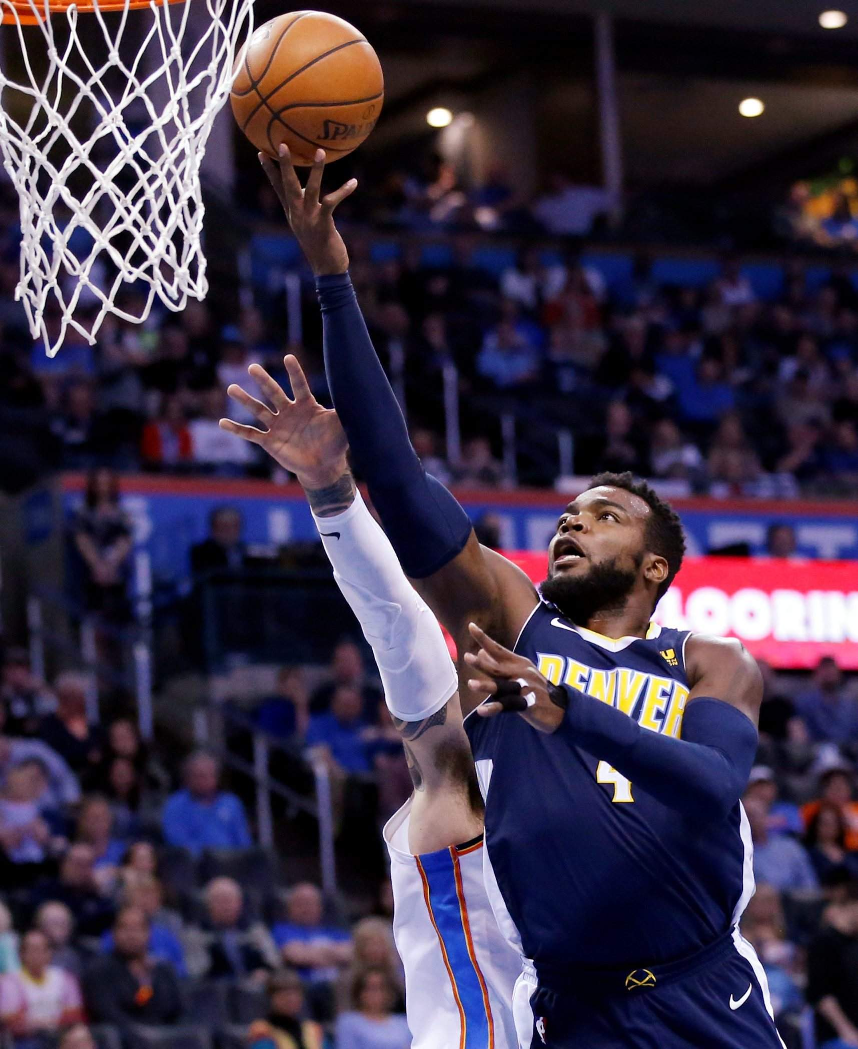 Millsap Scores 36 As Nuggets Top Thunder In OT