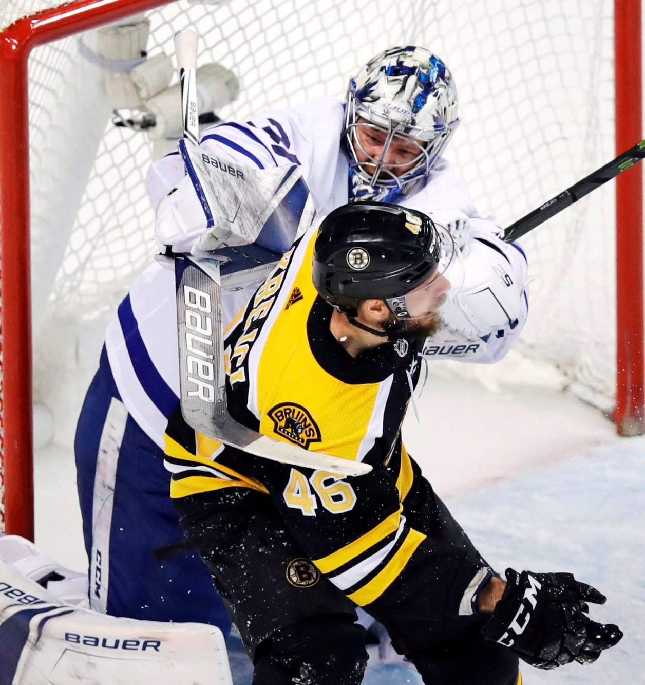 Bruins Score 4 In 3rd To Beat Maple Leafs In Game 7